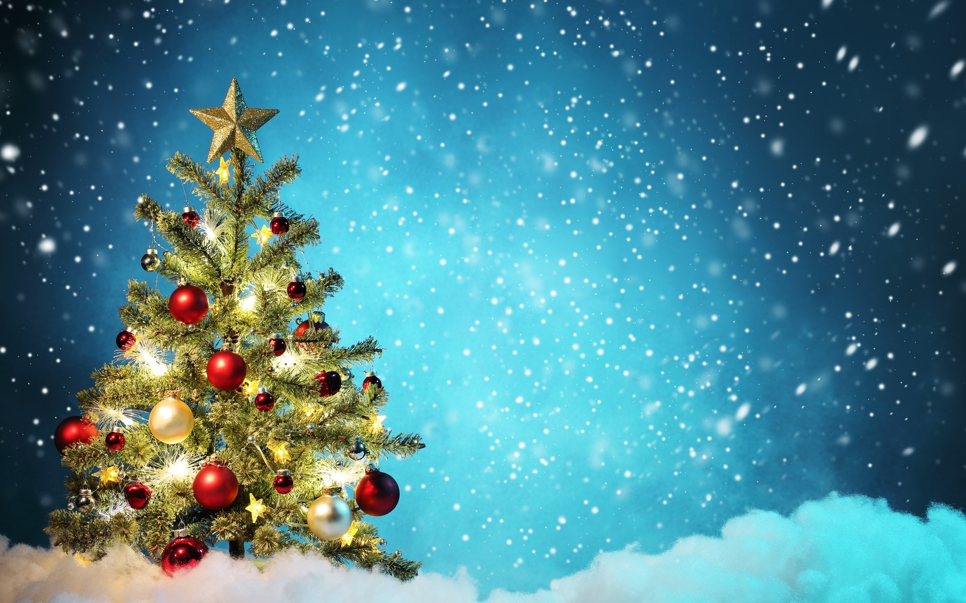 Beautiful Christmas Backgrounds ·①