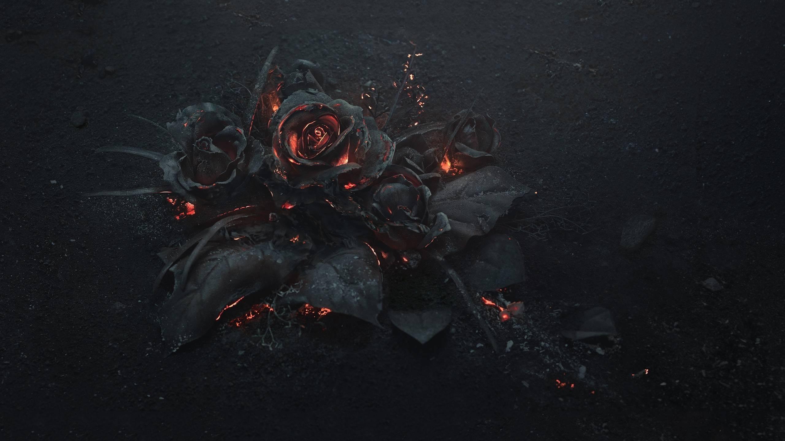 Fire Flower Wallpaper Wallpapertag