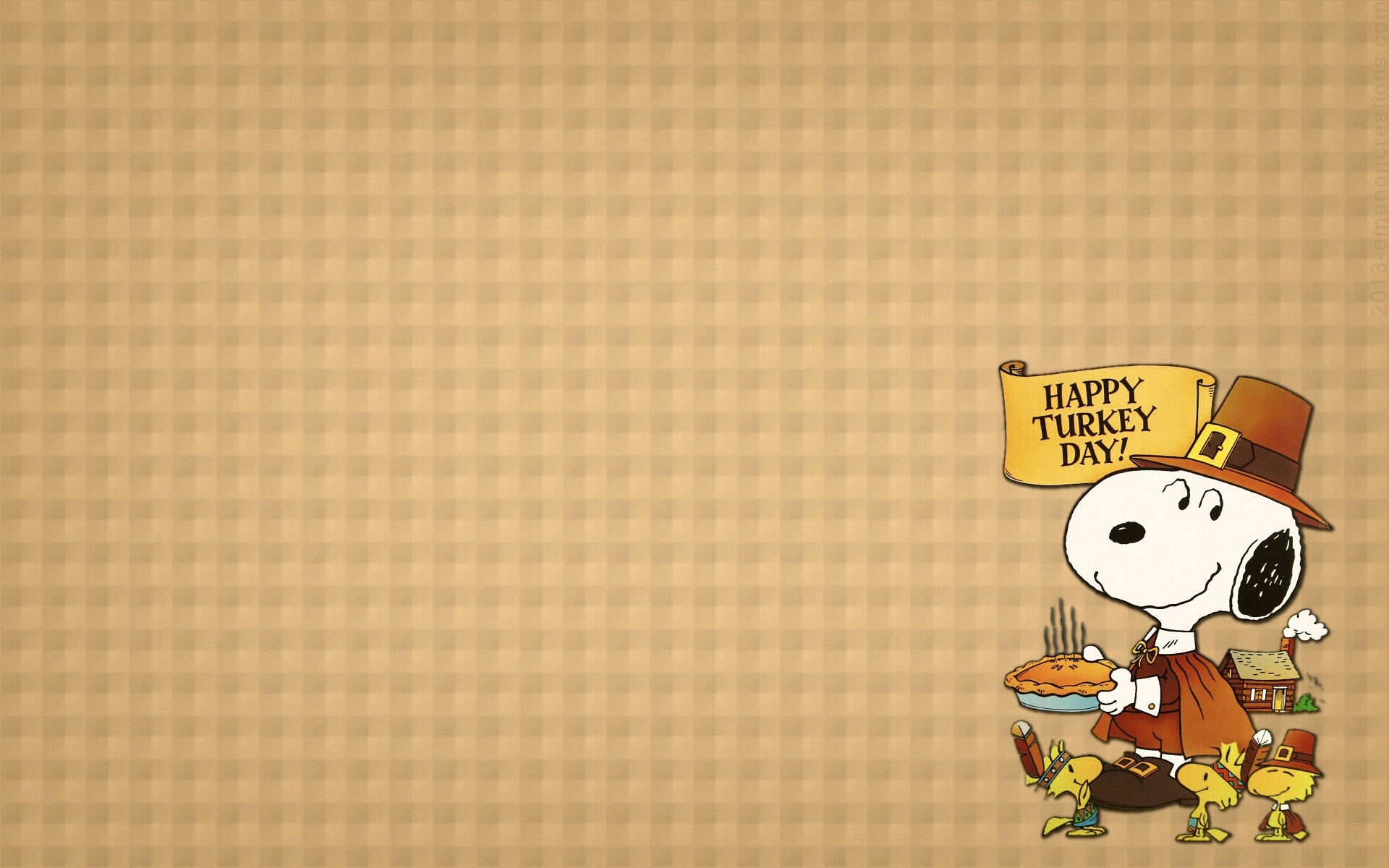 1920x1200 Thanksgiving Snoopy Wallpapers - Wallpaper Cave