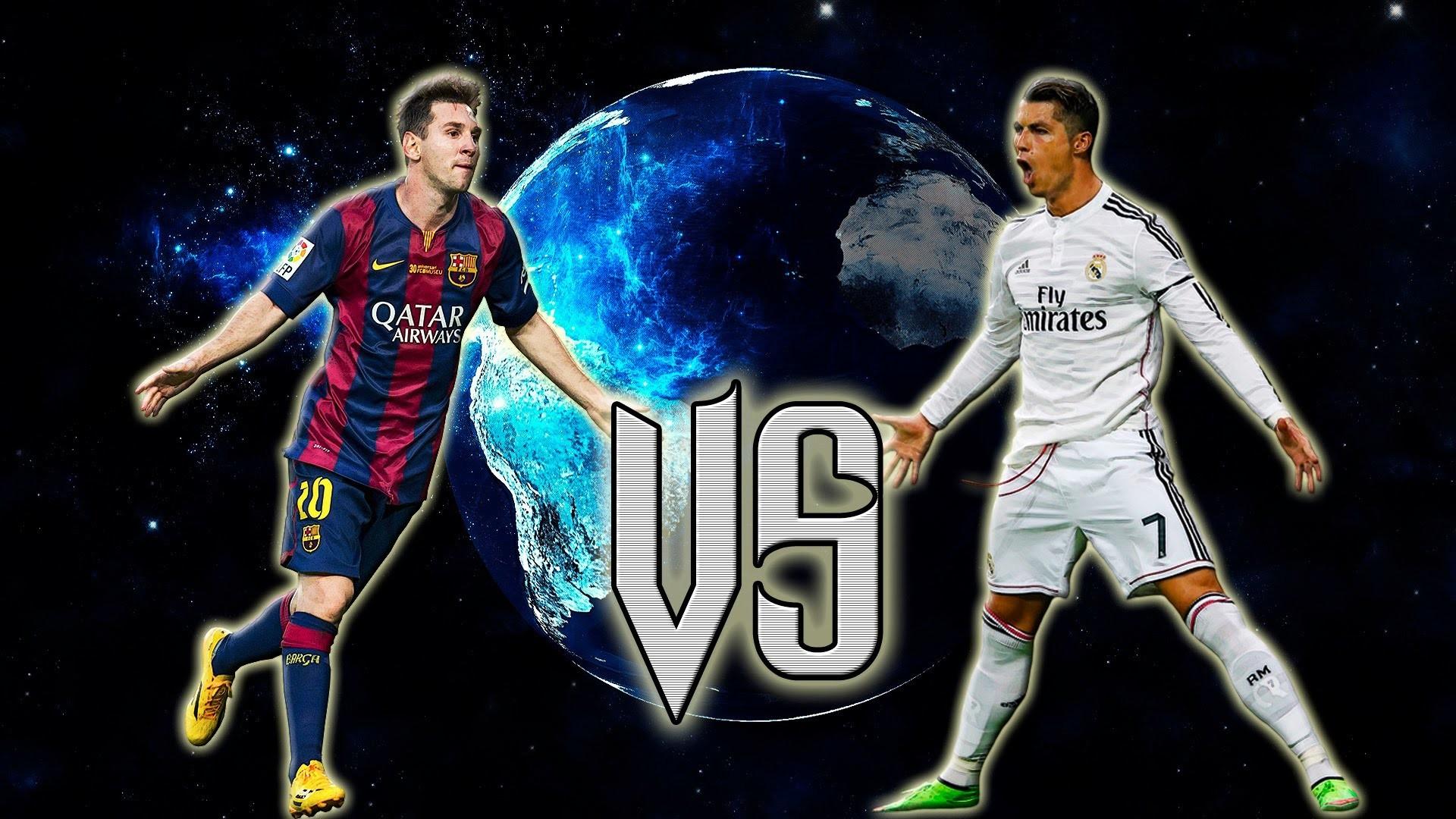 1920x1080 Cristiano Ronaldo Vs Lionel Messi 2017 Wallpapers 7