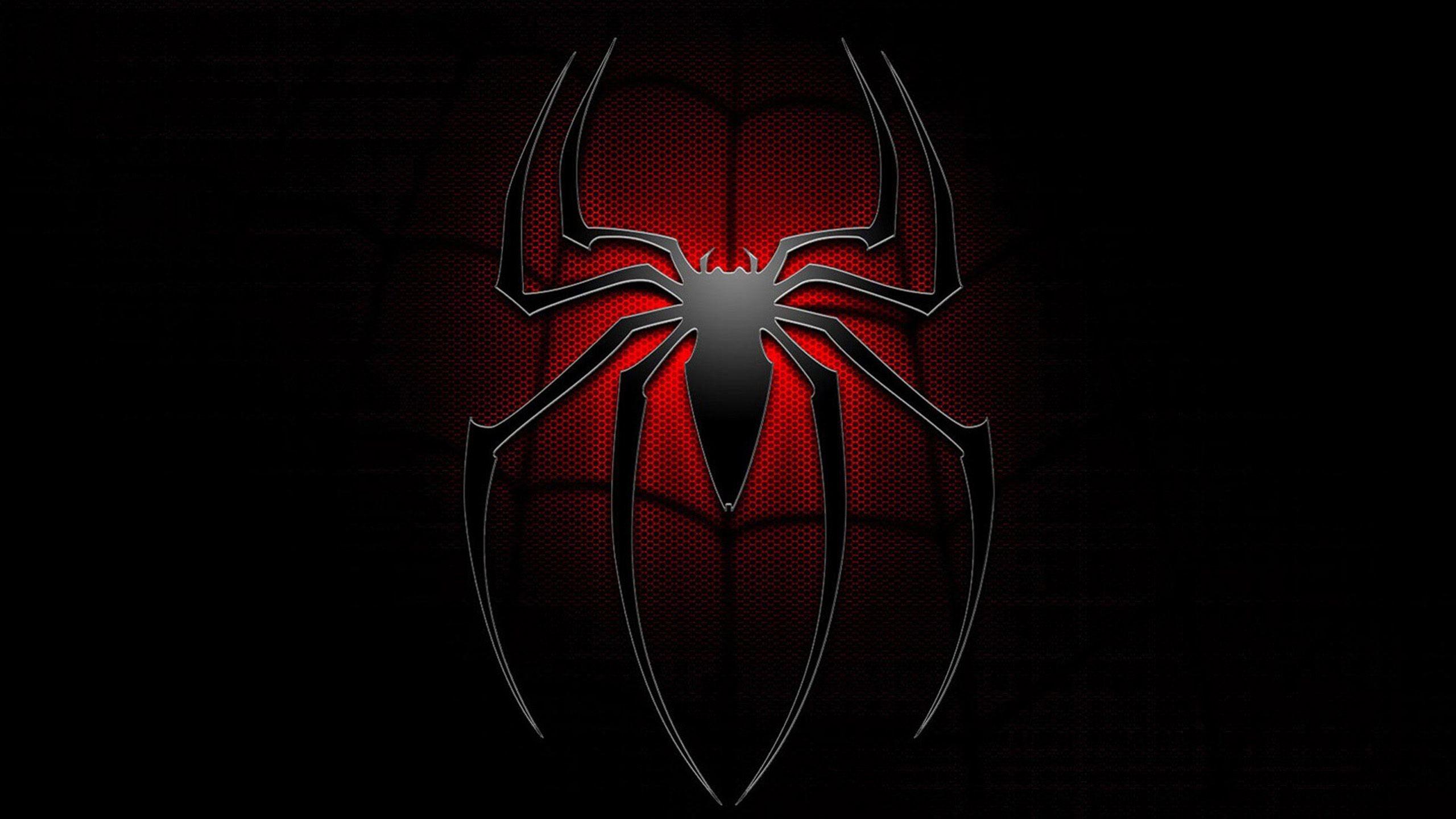 Spiderman Neon Red Wallpaper ·① WallpaperTag