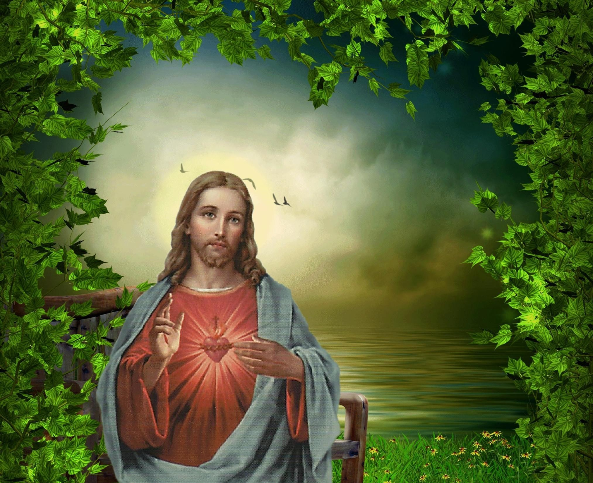 Sacred Heart Of Jesus Wallpaper