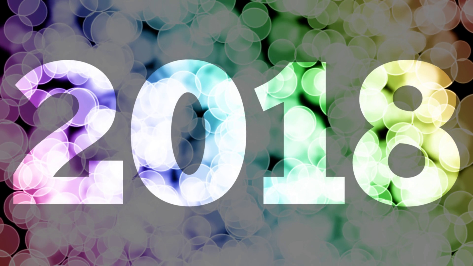 New Year Backgrounds 2018