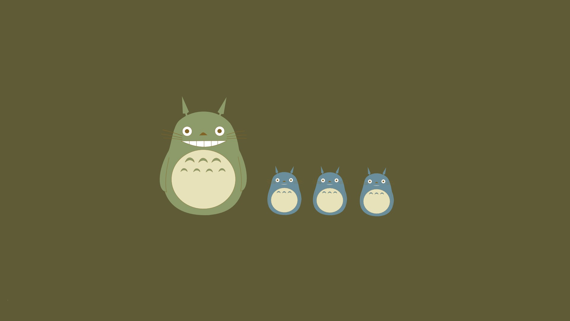 Totoro background ·① Download free awesome High Resolution ...