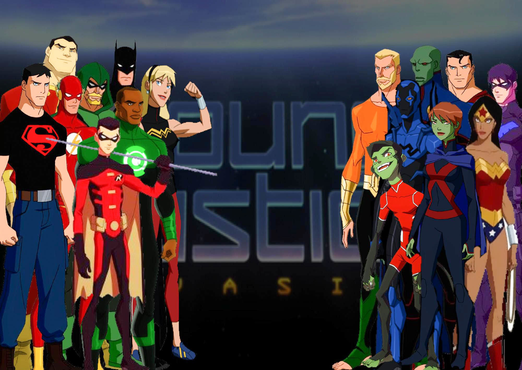 Young Justice Wallpapers 1