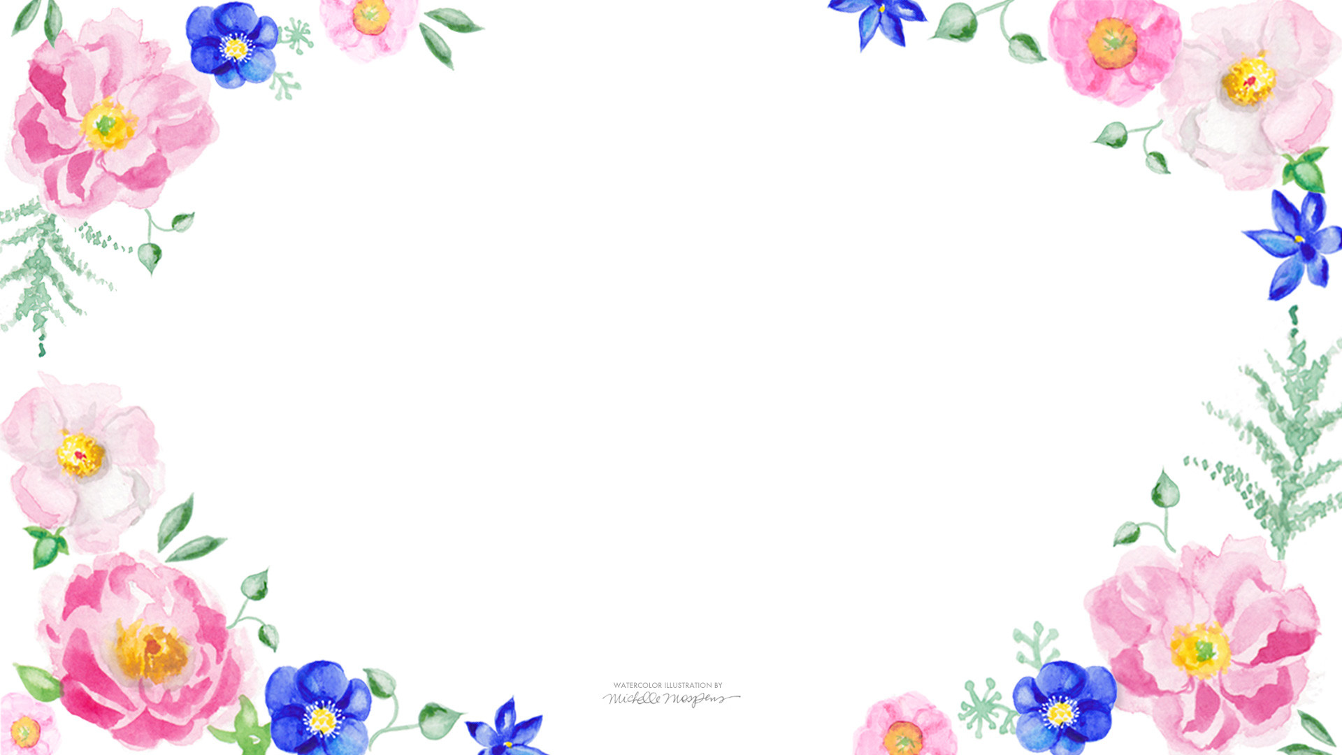 Floral Desktop Background Wallpapertag