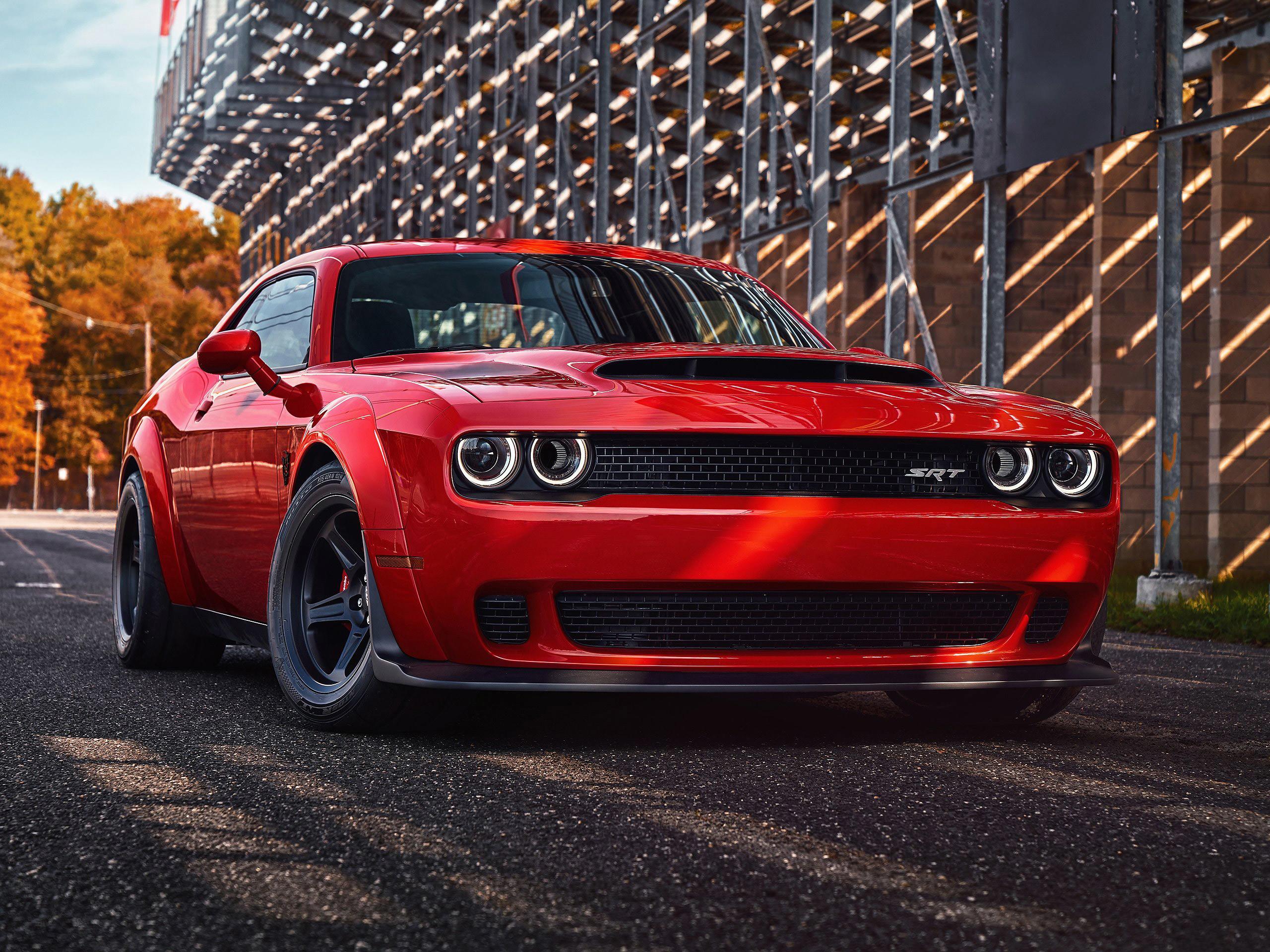 2018 Dodge Challenger Black Wallpapers Wallpapertag