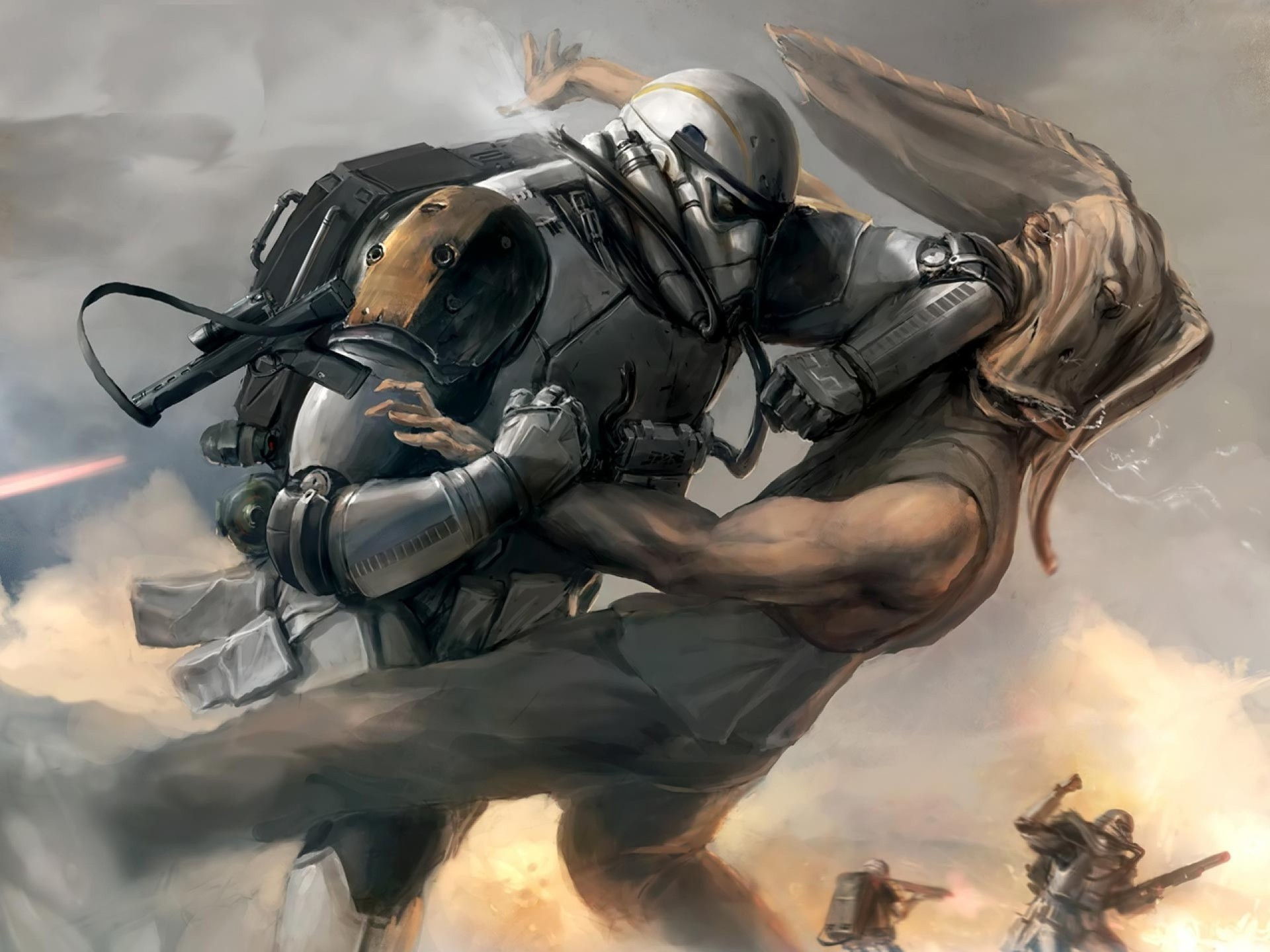 Star Wars The Clone Wars Wallpaper: Star Wars Clone Trooper Wallpaper ·① WallpaperTag