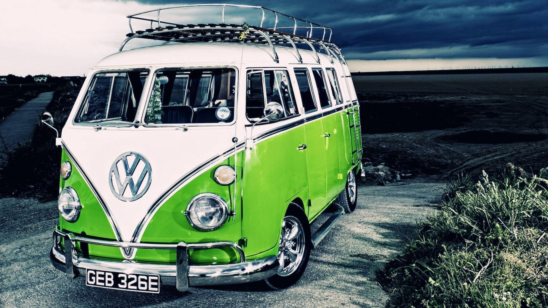 Best Wallpaper Gallery With Pc Wallpaper Volkswagen: VW Bus Wallpaper ·①