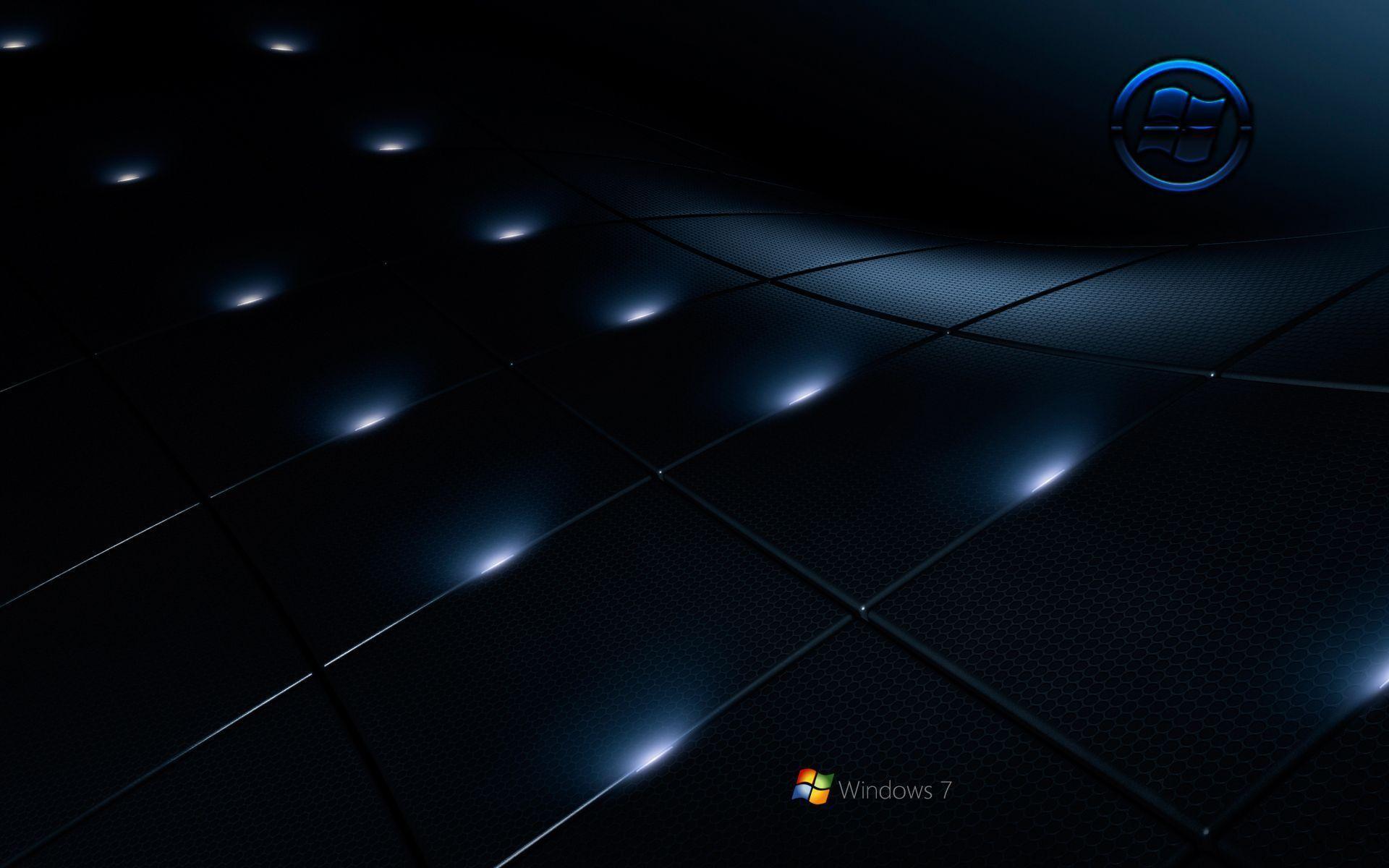 Windows 7 Black Wallpaper Wallpapertag