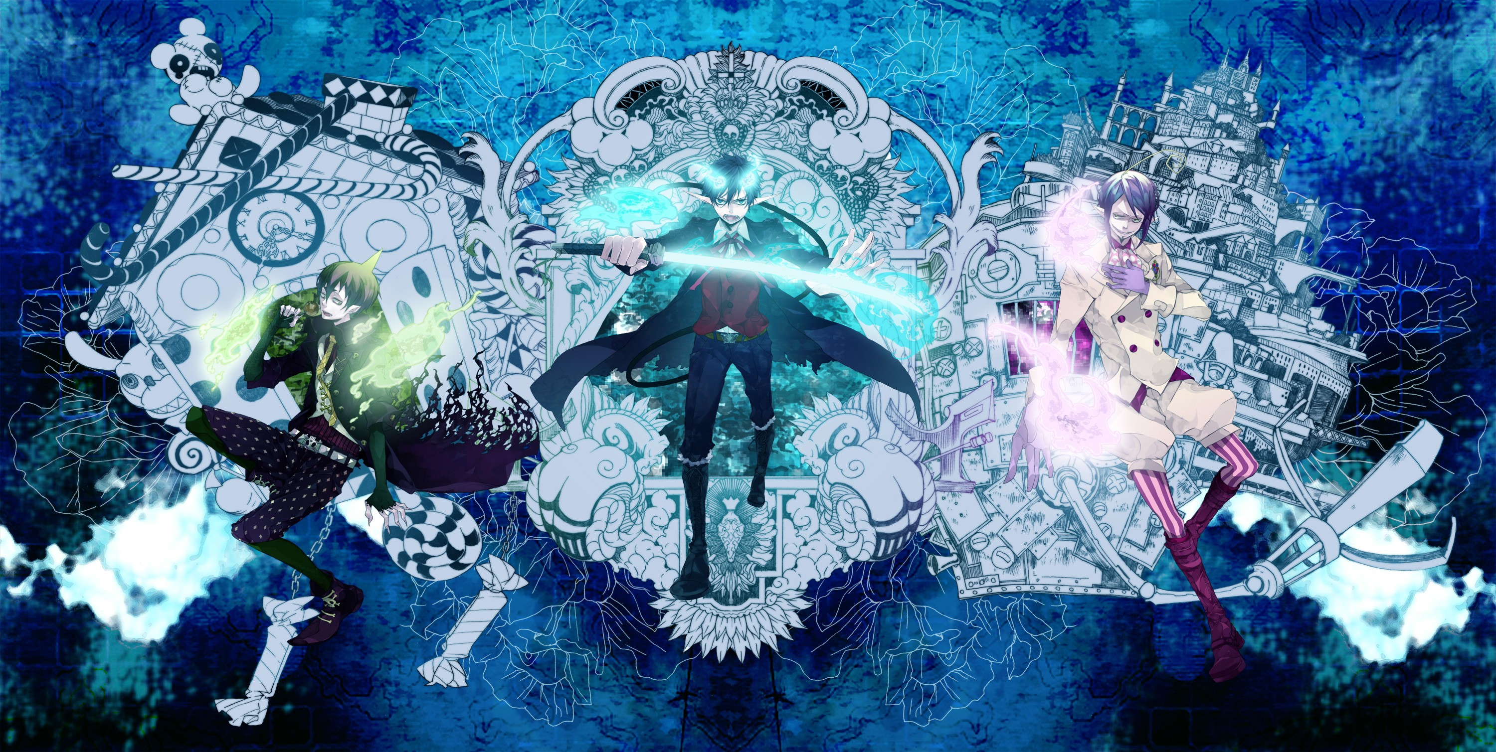 Blue Exorcist Wallpaper Download Free Amazing Backgrounds For