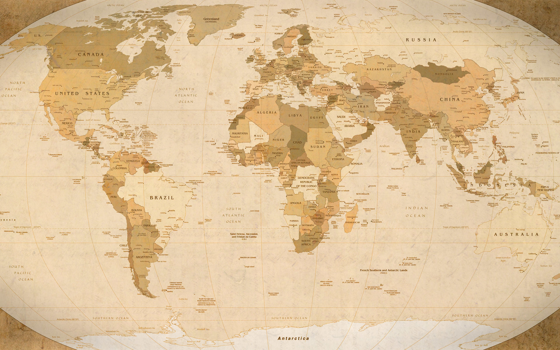 Africa Map Wallpaper ① - World map ipad wallpaper