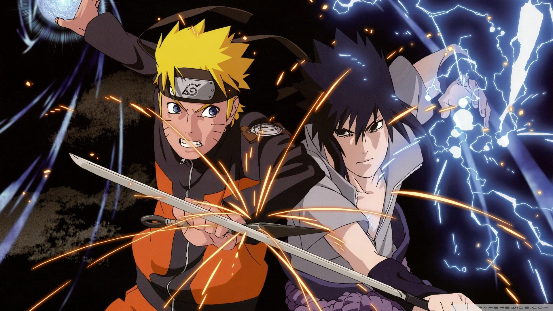 Naruto Vs Sasuke Wallpaper Wallpapertag