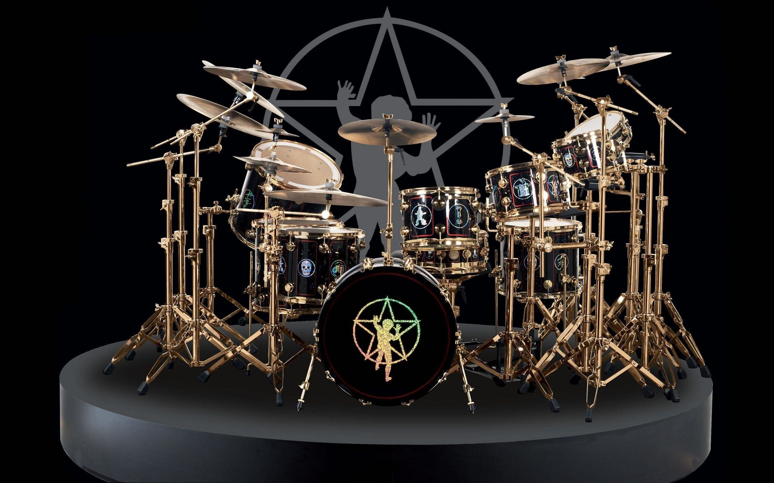 Drum Set Wallpaper