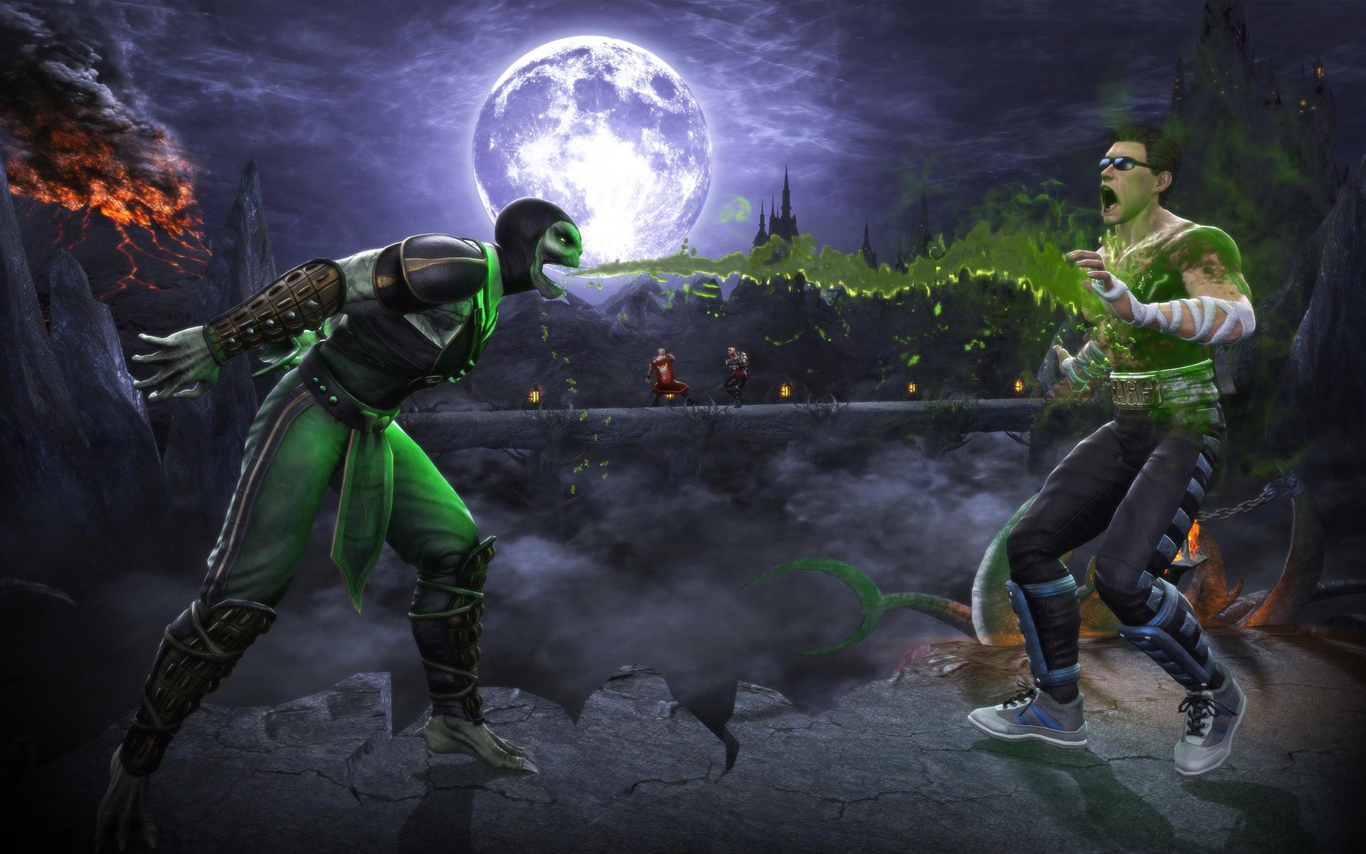Mortal kombat reptile wallpaper