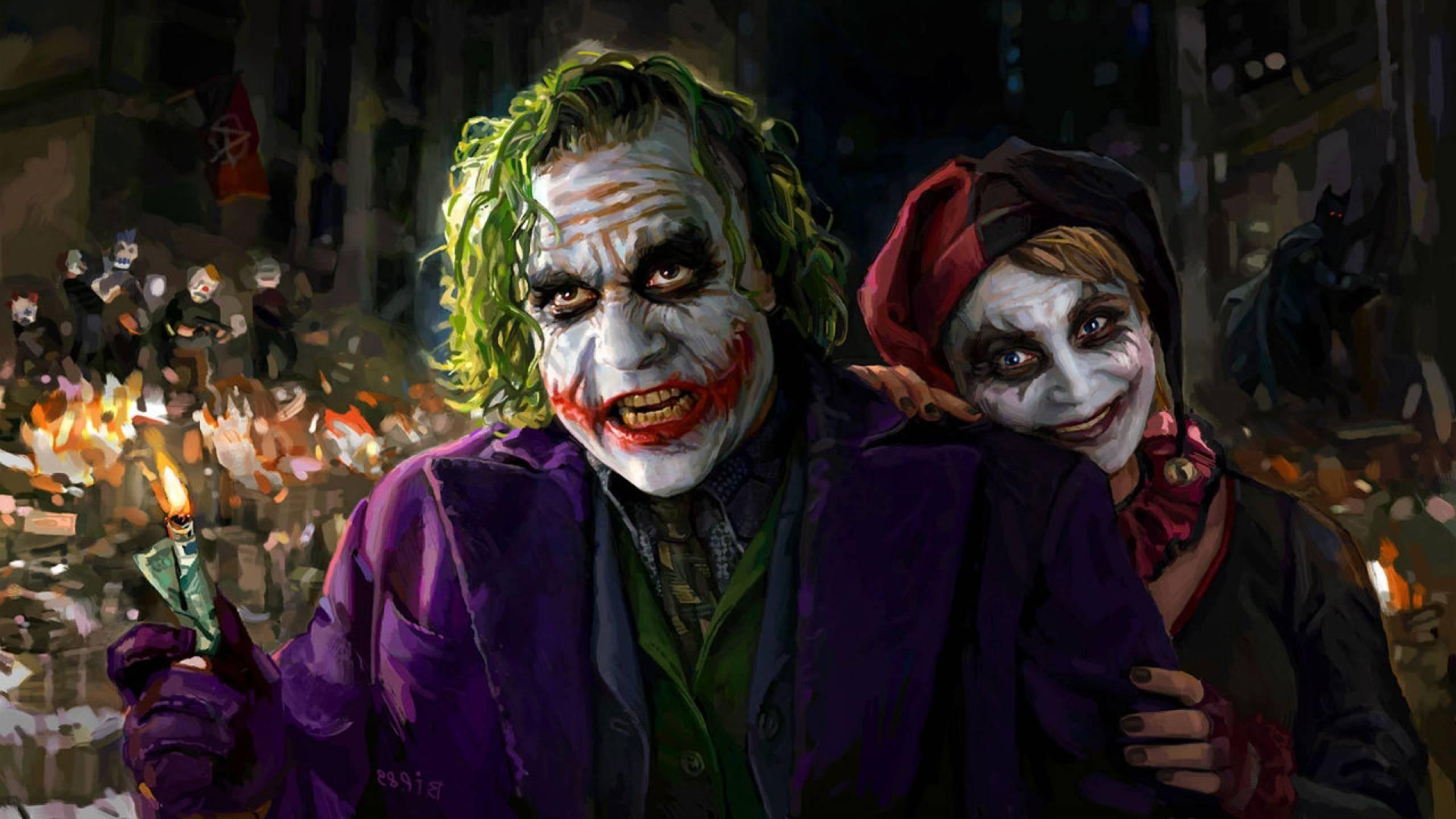 Harley Quinn And Joker Wallpaper Download Free Beautiful