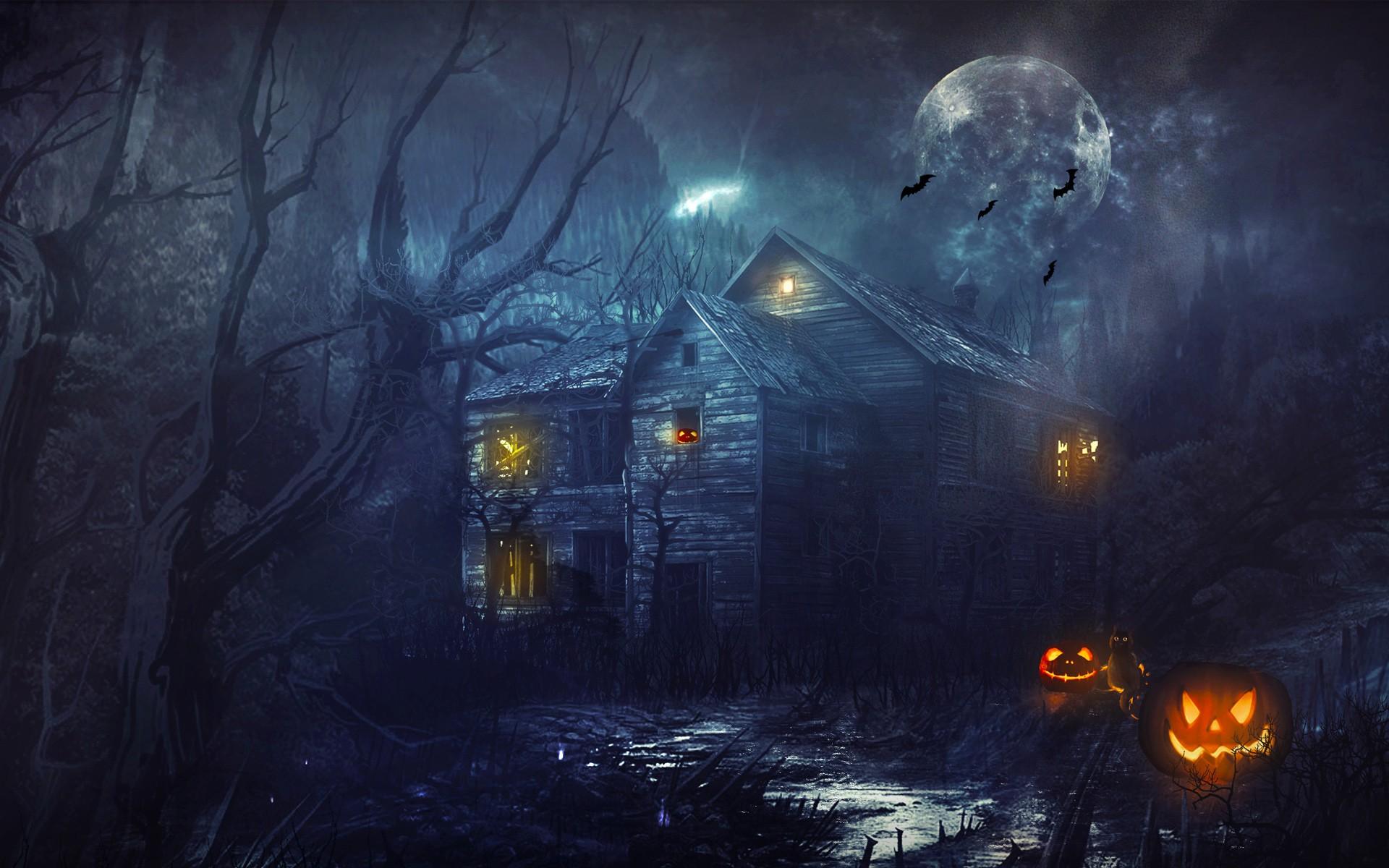 Halloween desktop wallpaper ·① Download free awesome full HD ...