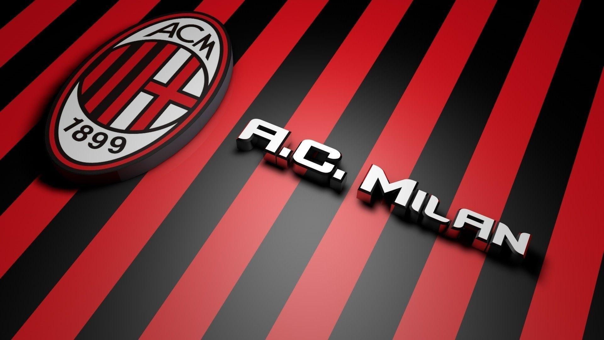 Logo Ac Milan Wallpaper 2018 ·â' WallpaperTag