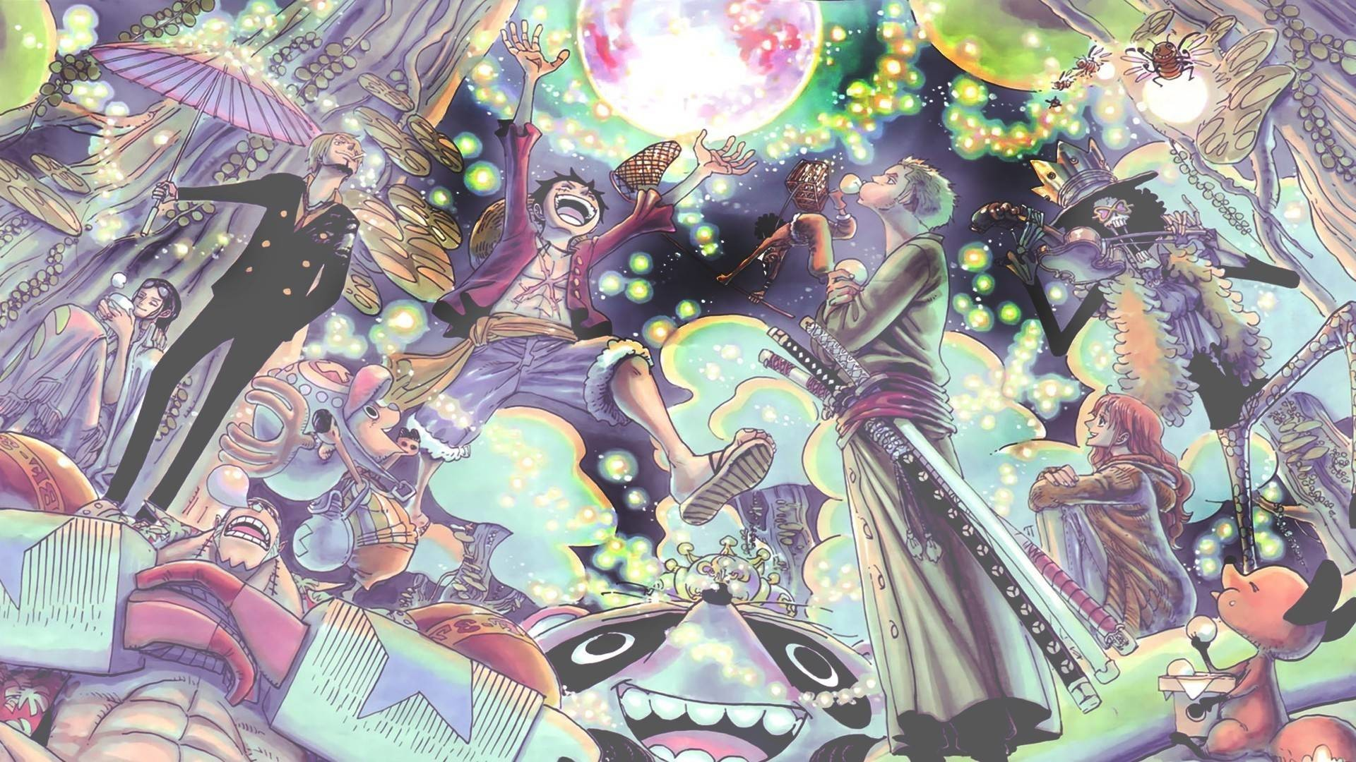 One piece crew wallpaper wallpapertag - One piece pictures new world ...