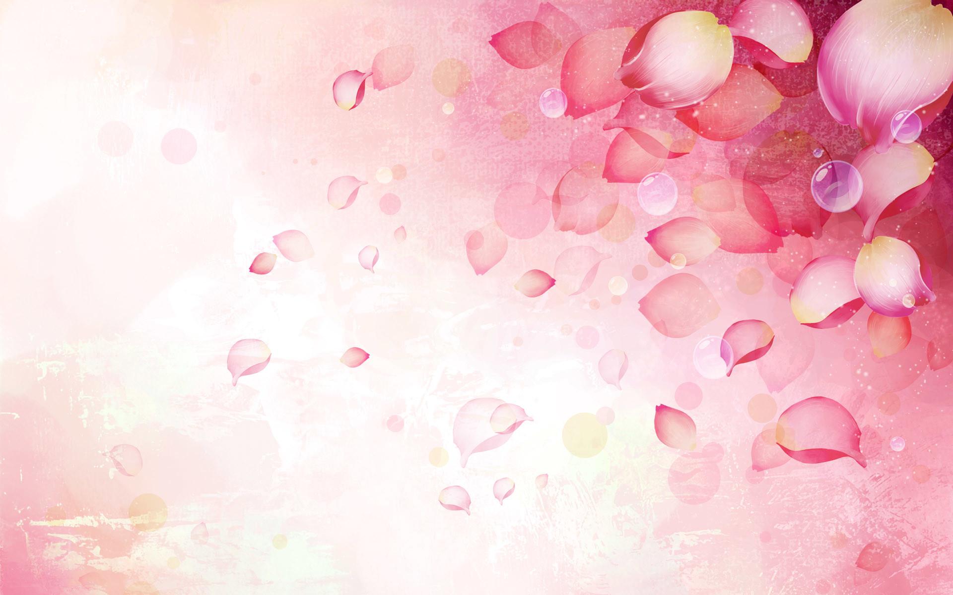 Pink flowers background bflower mightylinksfo
