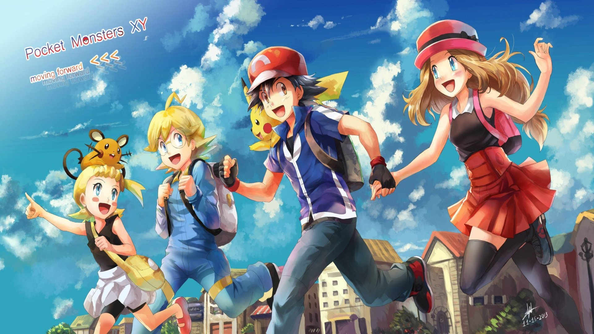 Pokemon X Y Wallpaper Wallpapertag