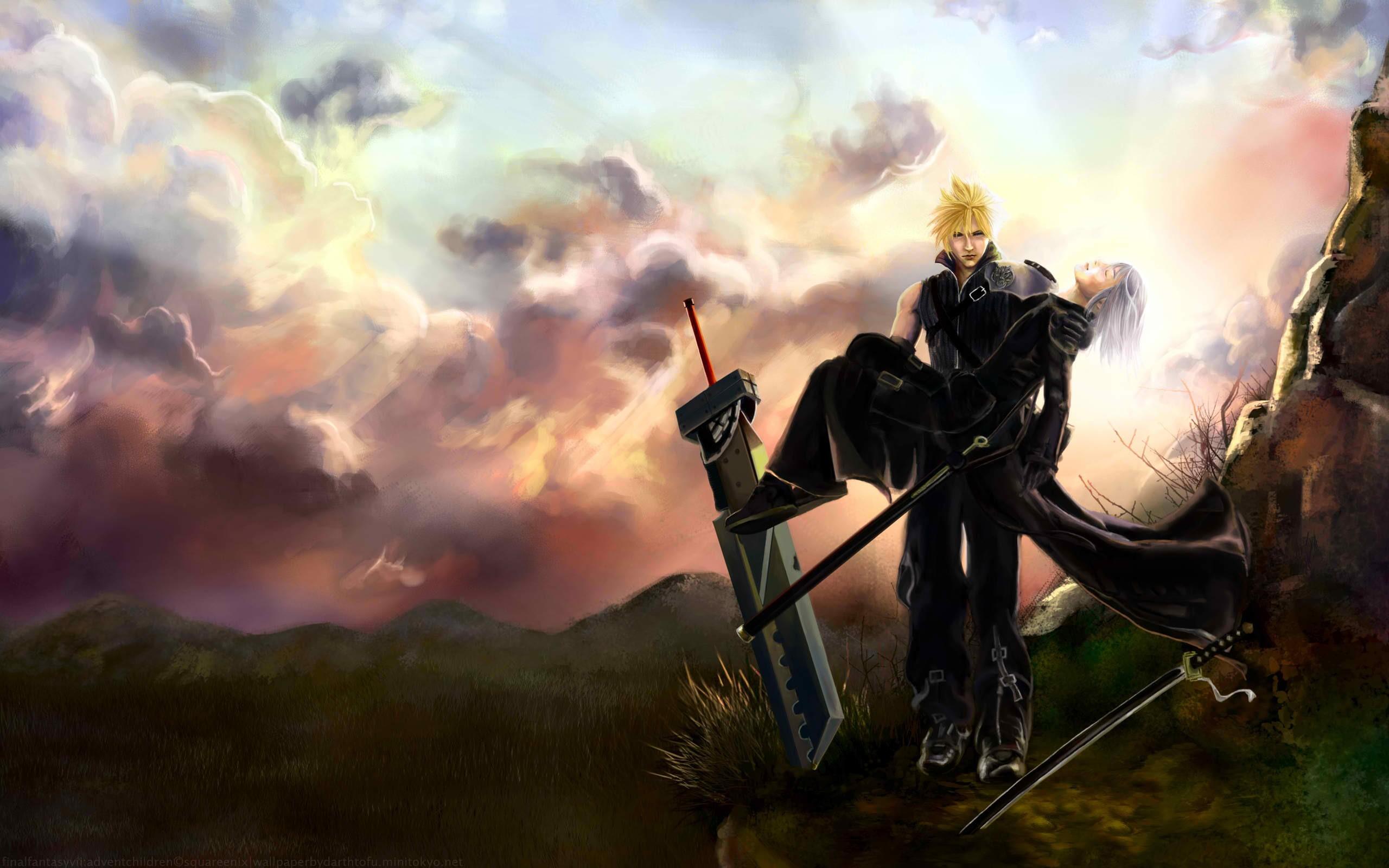 Final Fantasy Cloud Strife Wallpaper Wallpapertag