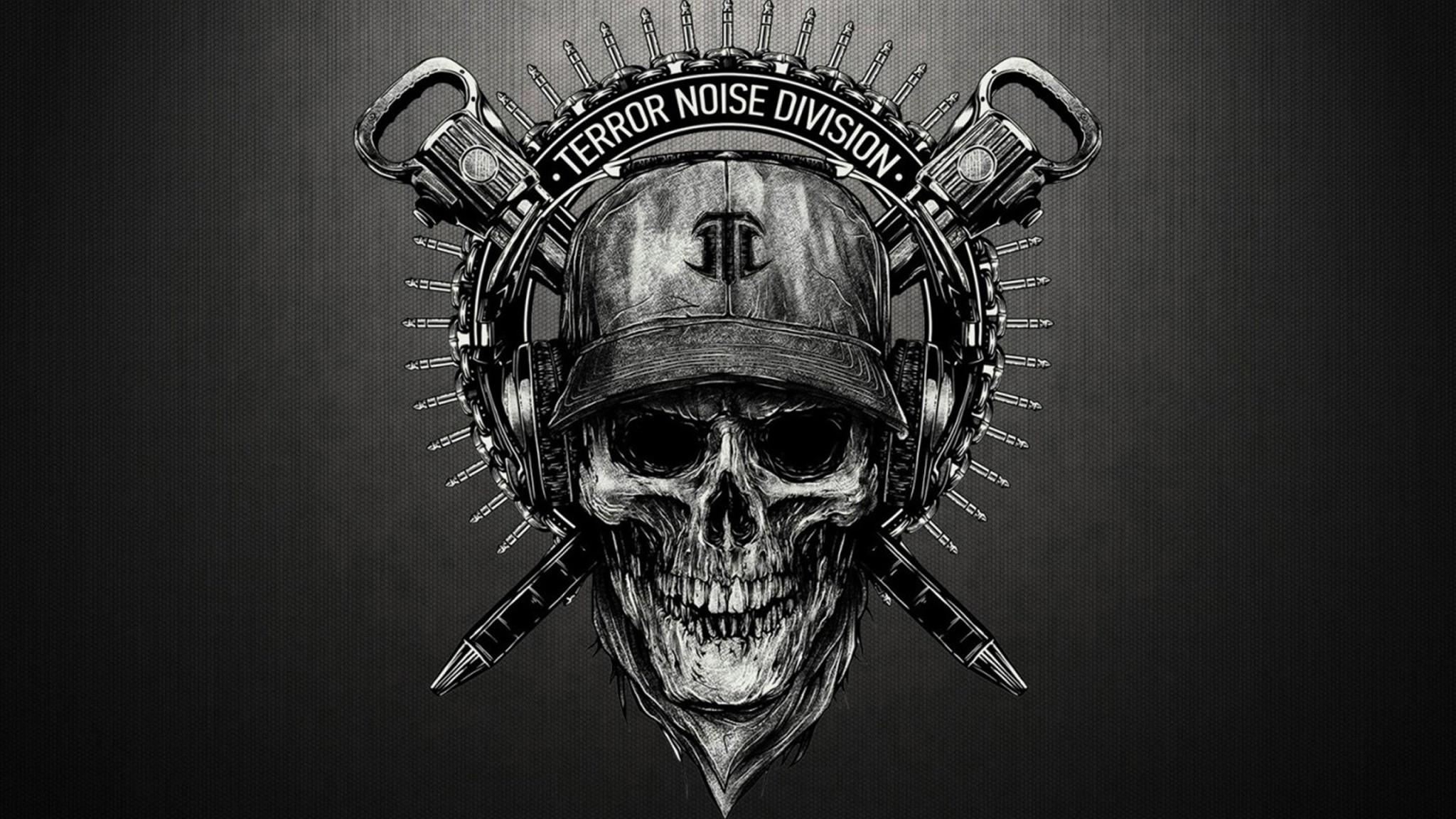 Evil Skull Wallpaper 1