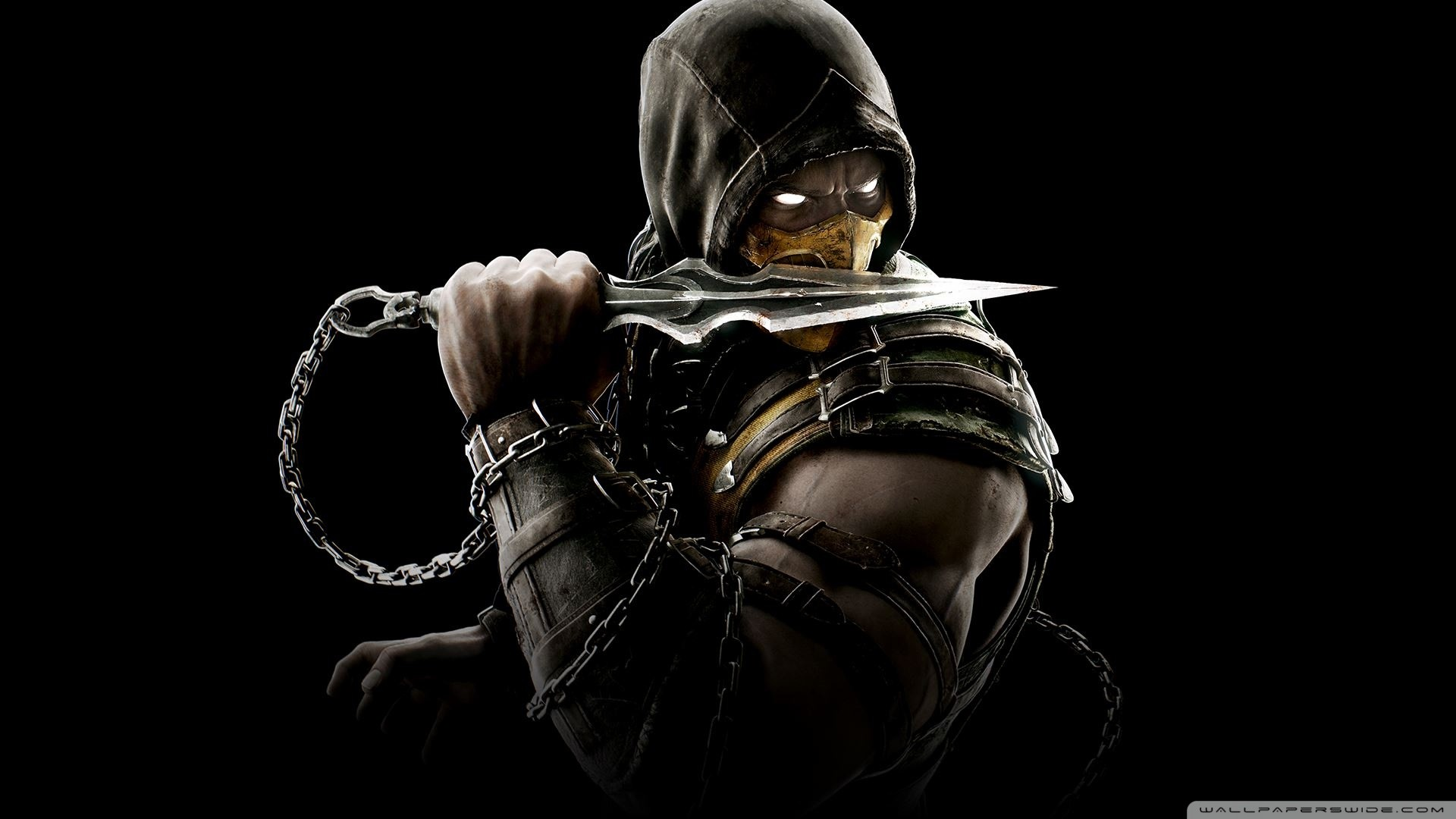 Mortal Kombat Wallpapers Scorpion Wallpapertag