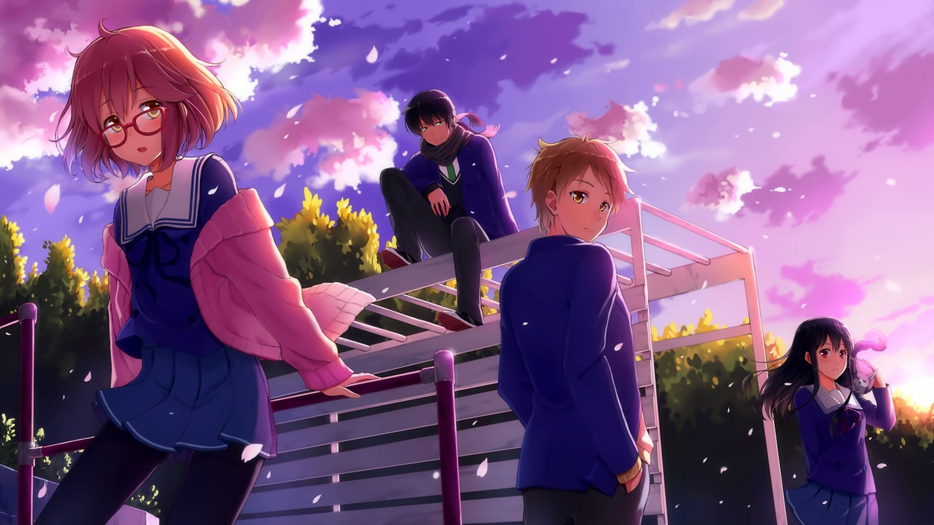 Beyond The Boundary Wallpaper Download Free Stunning High