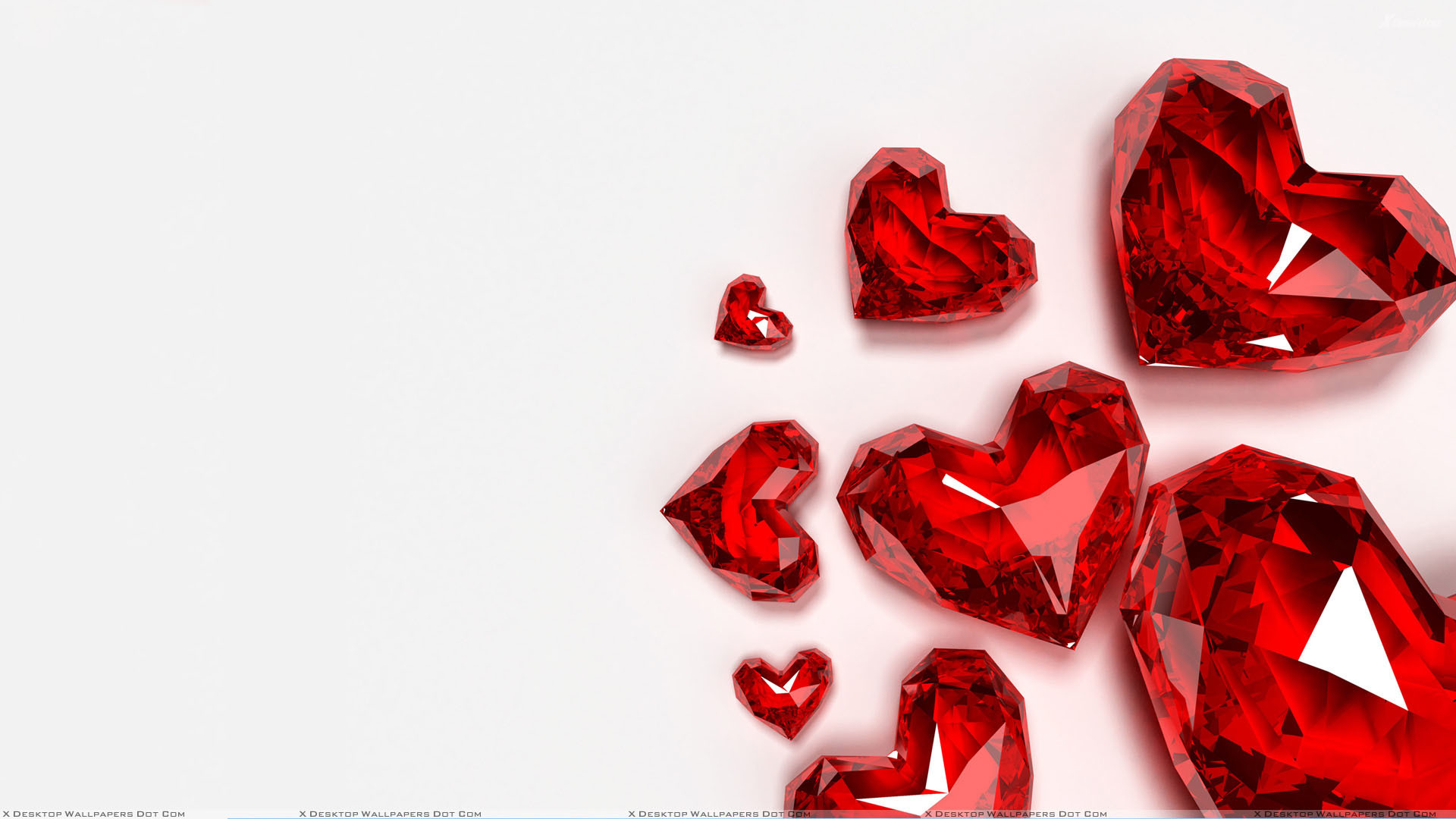 2560x1600 Wallpaper Heart Pattern Background Red Black HD Picture Image