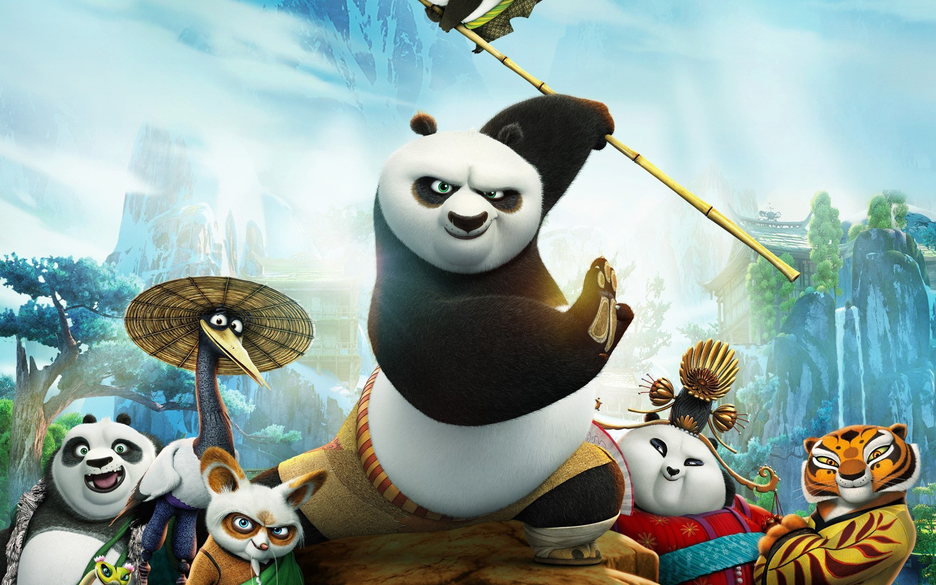 Kung fu panda 3 wallpapers wallpapertag - Kung fu panda wallpaper ...