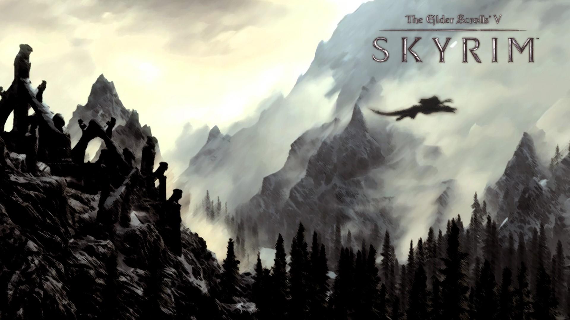 1920x1080 Skyrim HD Wallpapers Free Download. Download .