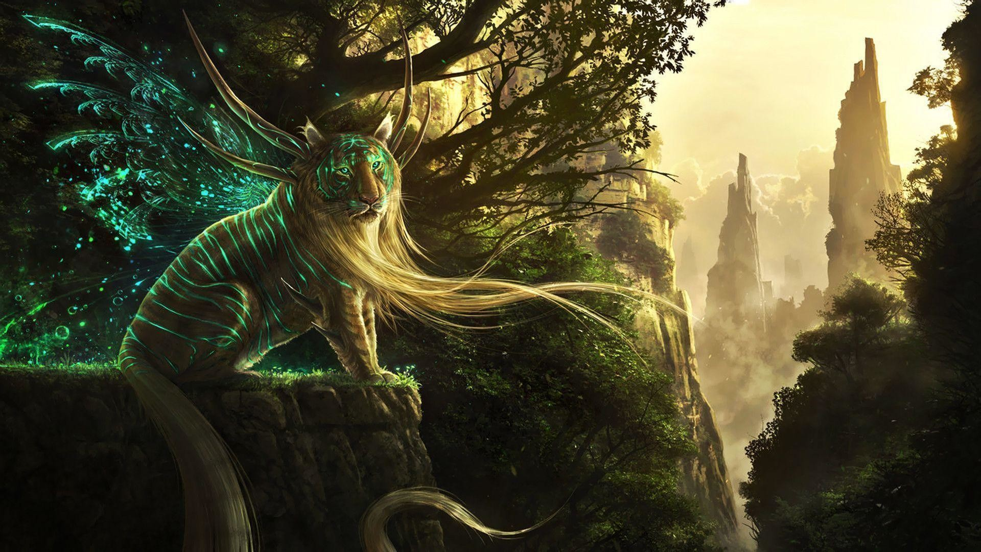 Mythical Creatures Wallpaper ·① WallpaperTag