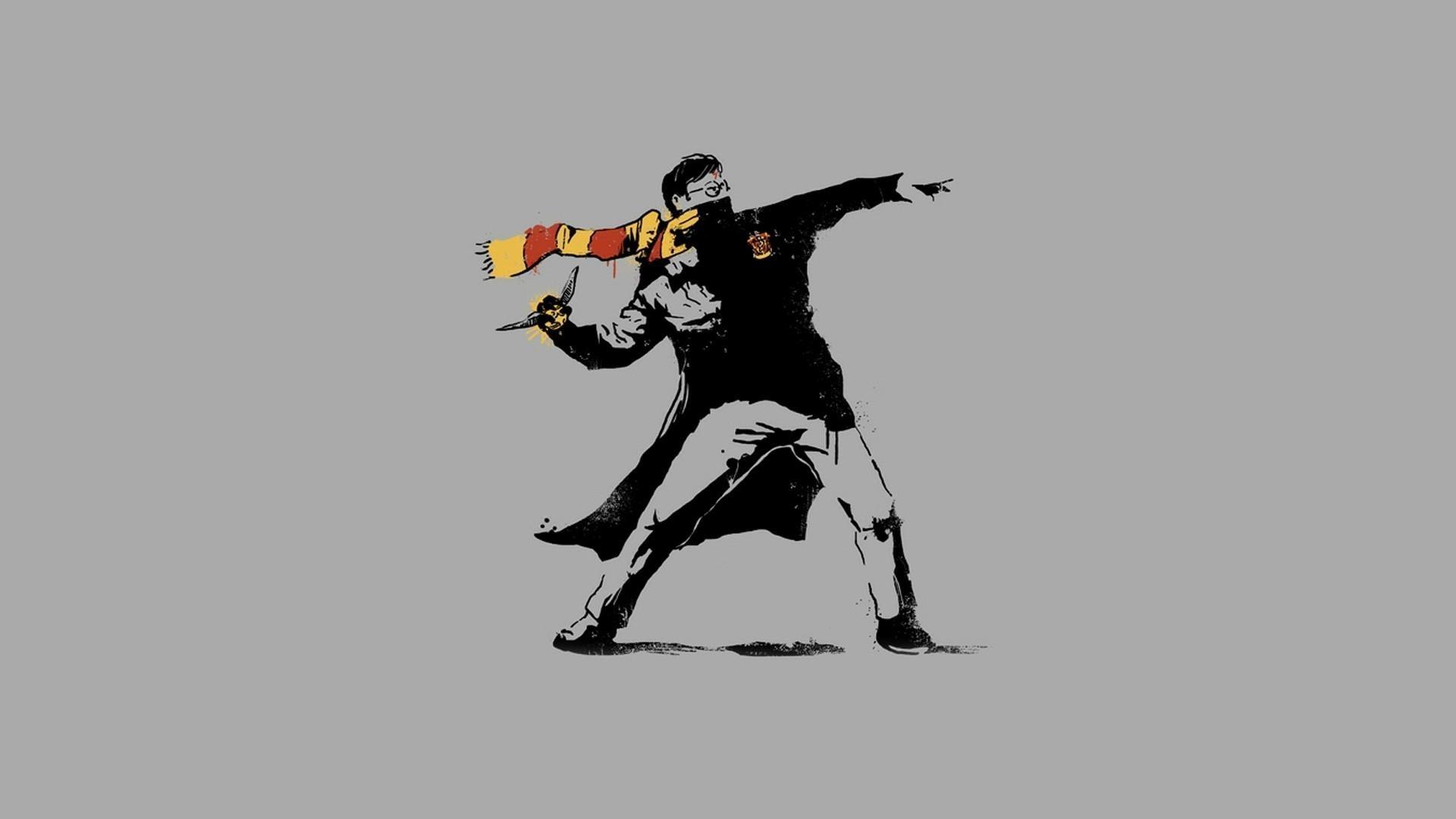 Banksy Hd Wallpaper Wallpapertag