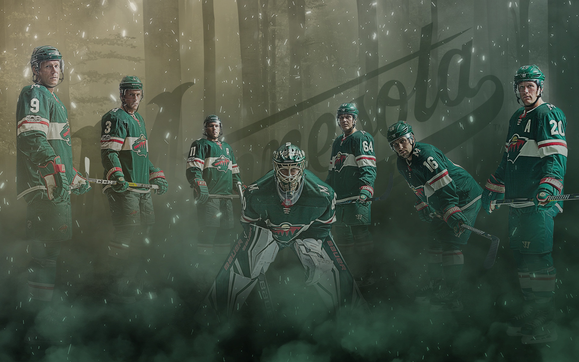 Minnesota Wild Wallpaper 1