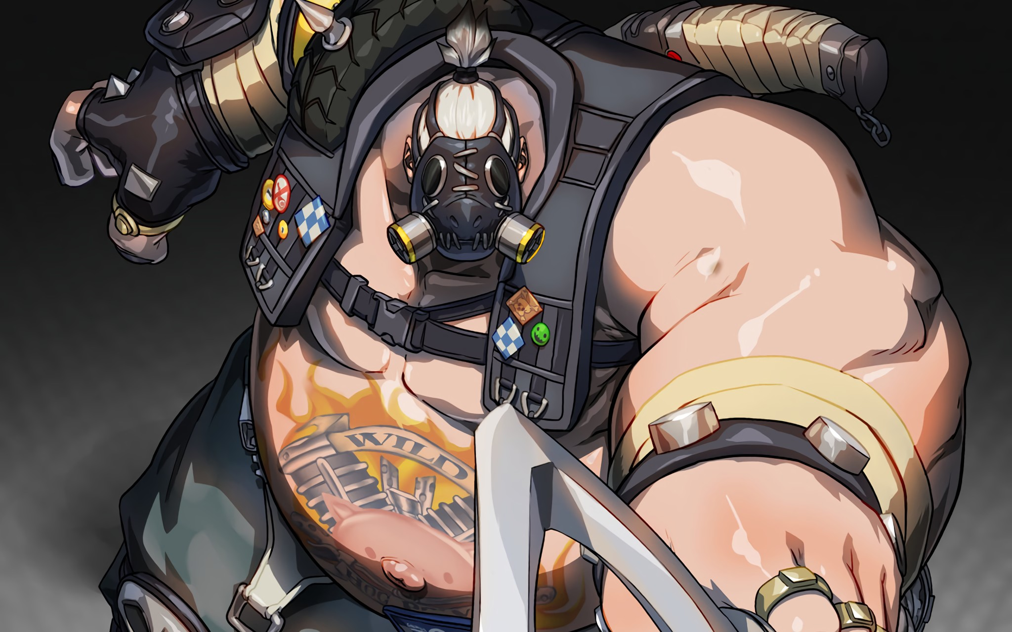 Overwatch Wallpaper 1080p Download Free Cool High: Roadhog Wallpaper ·① Download Free Stunning High