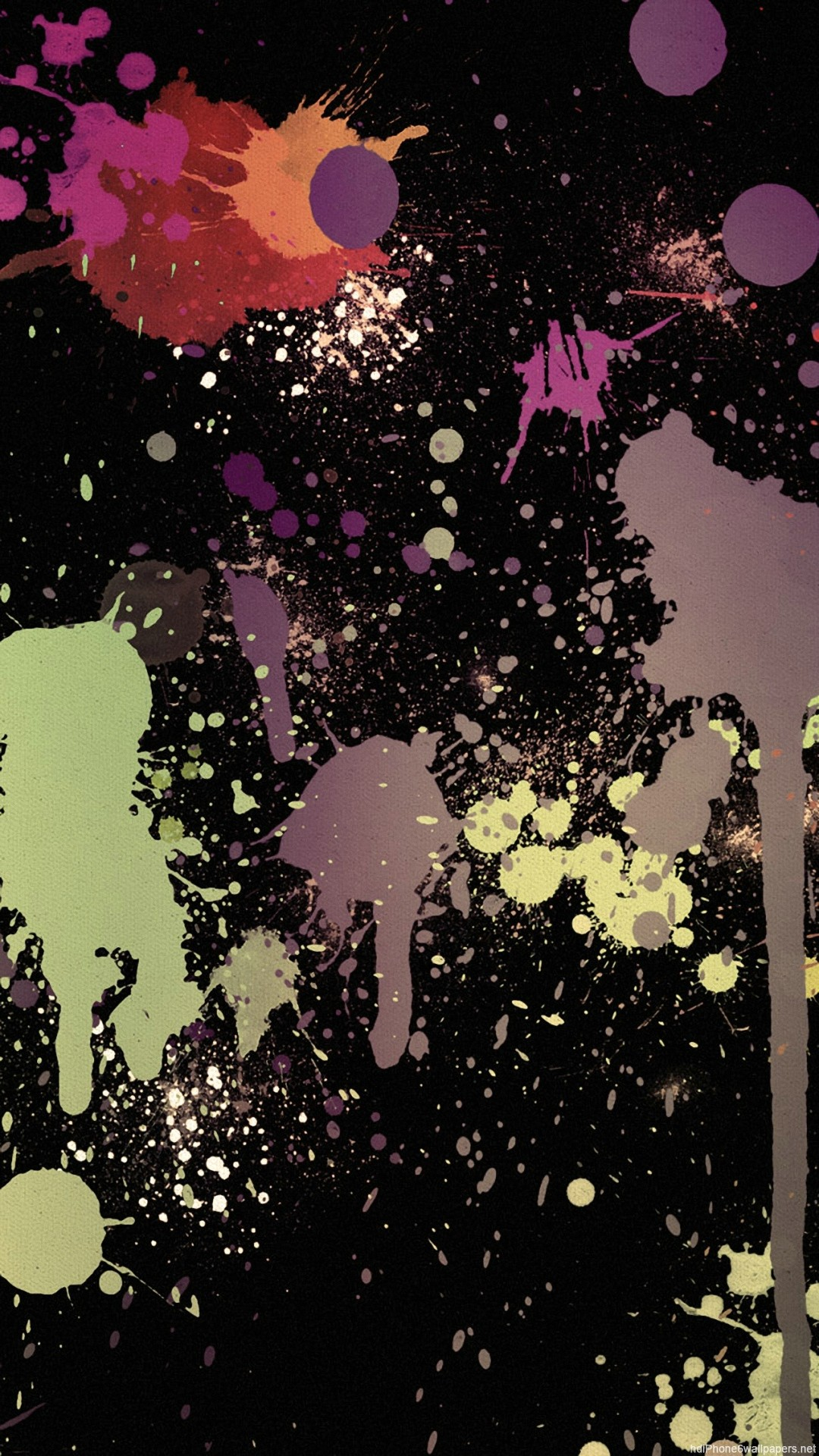 Splatter Backgrounds ·①