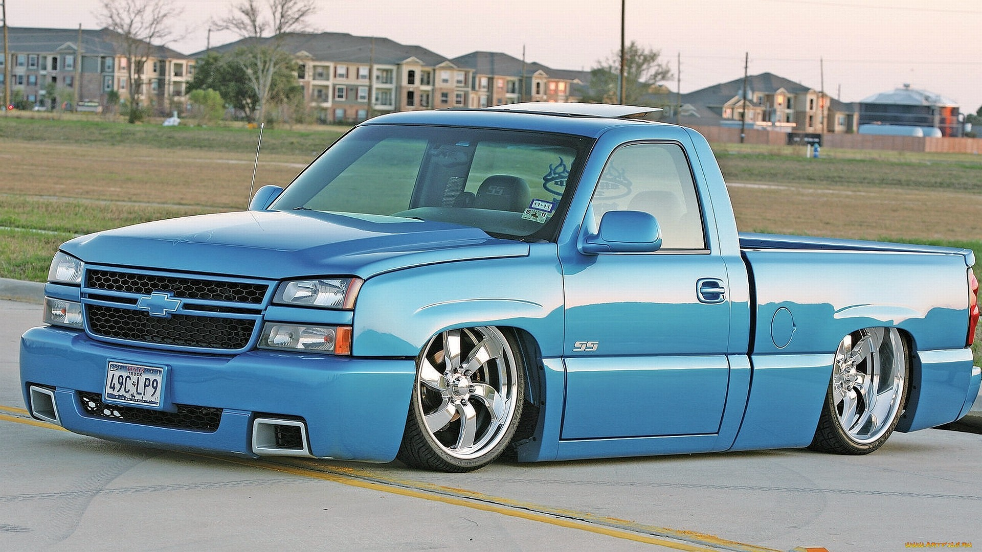 Lowrider Trucks Wallpaper