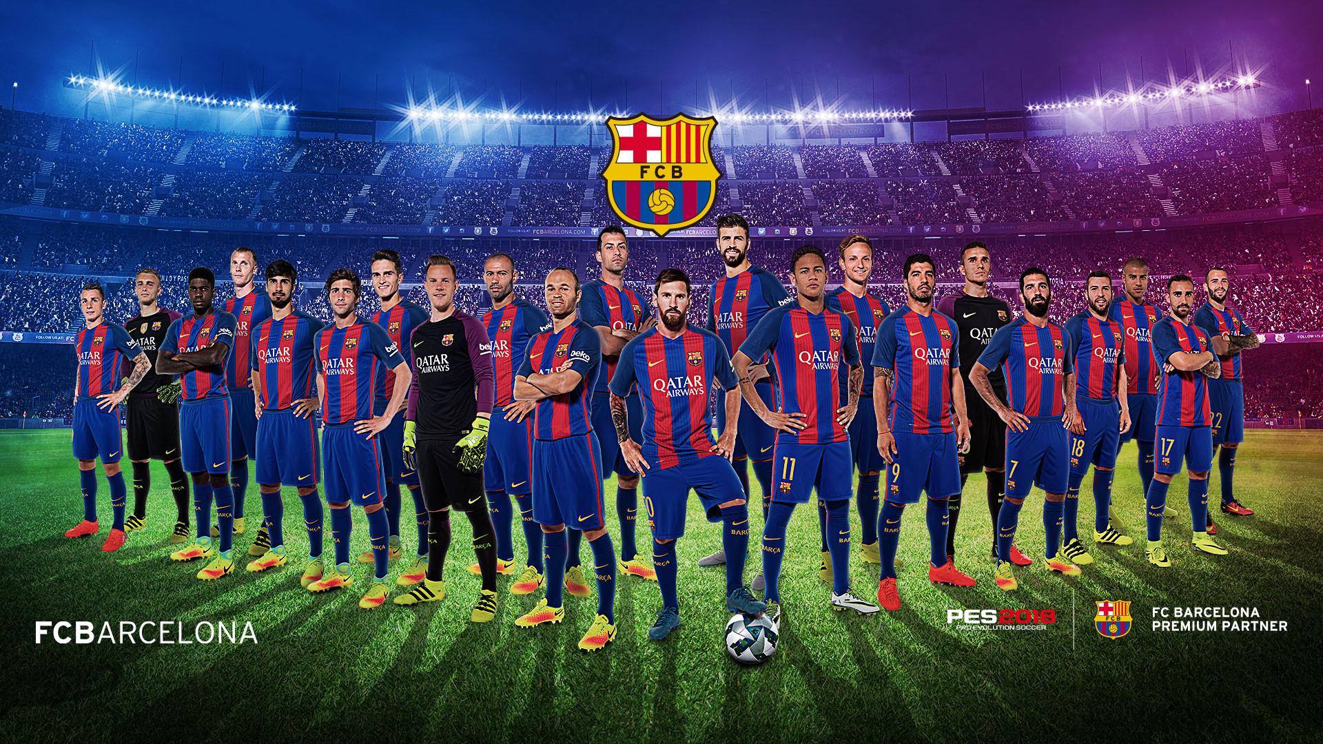Barcelona Logo 2018 Wallpaper
