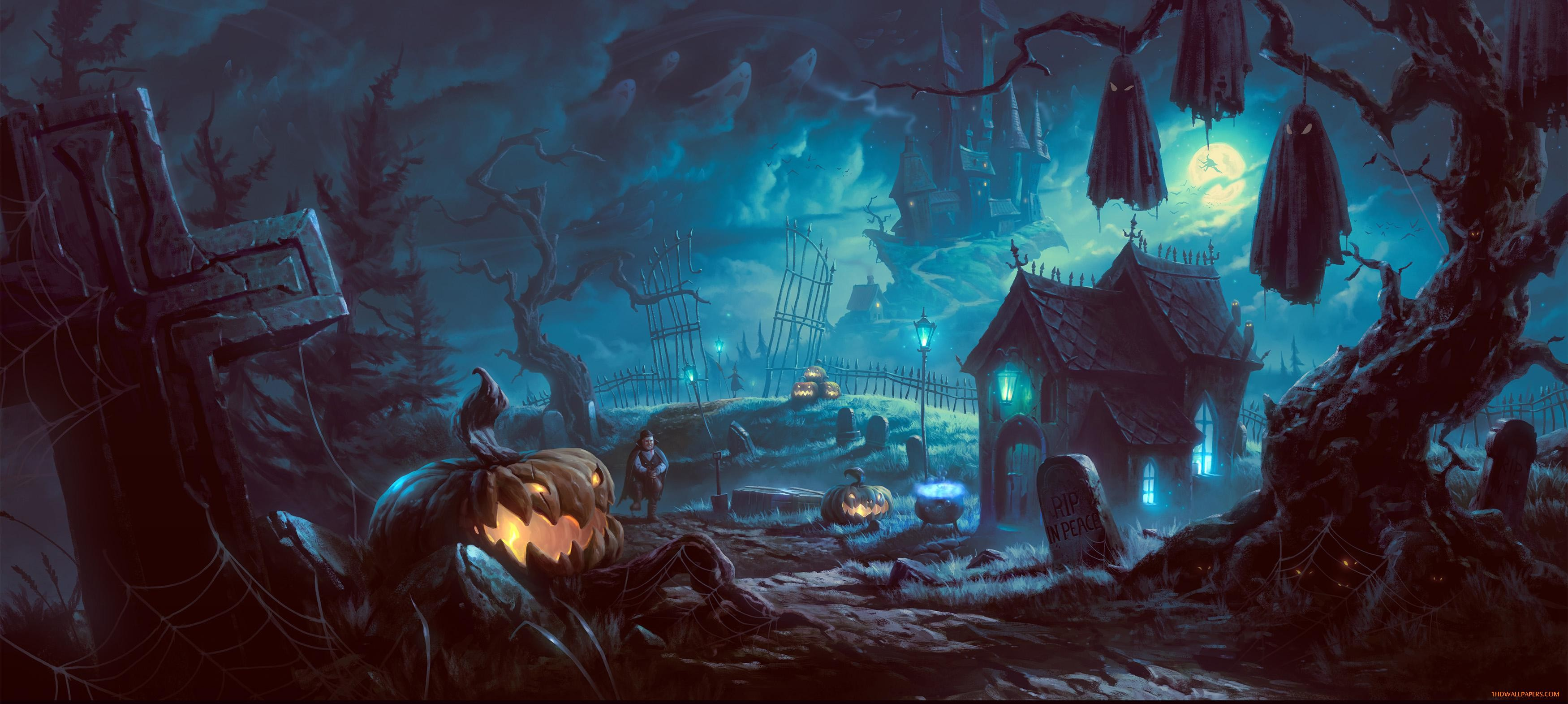 23 halloween backgrounds desktop download free amazing - Best site to download anime wallpapers ...