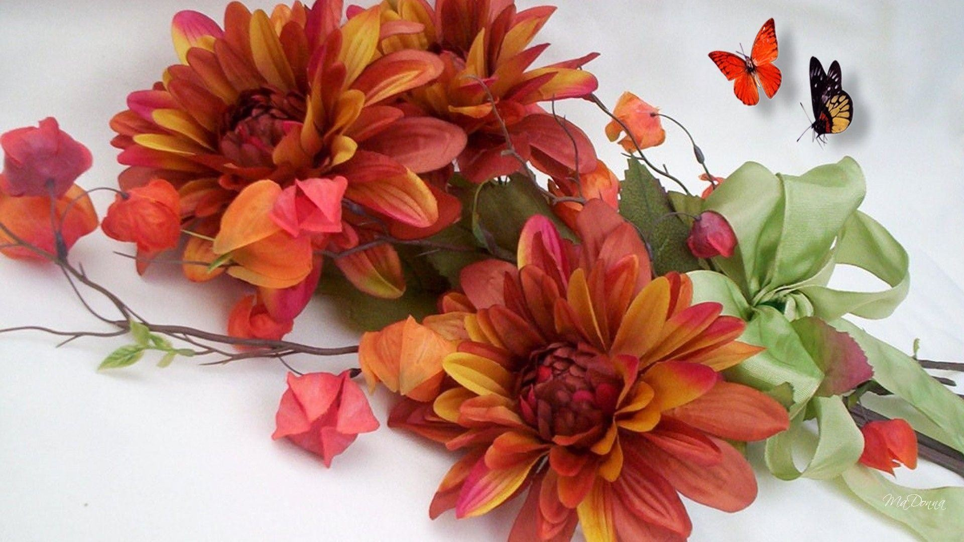 Fall flowers wallpaper for Popular fall flowers