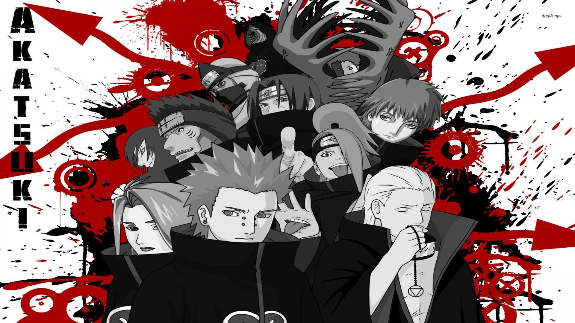 Naruto Shippuden Wallpaper Akatsuki Wallpapertag