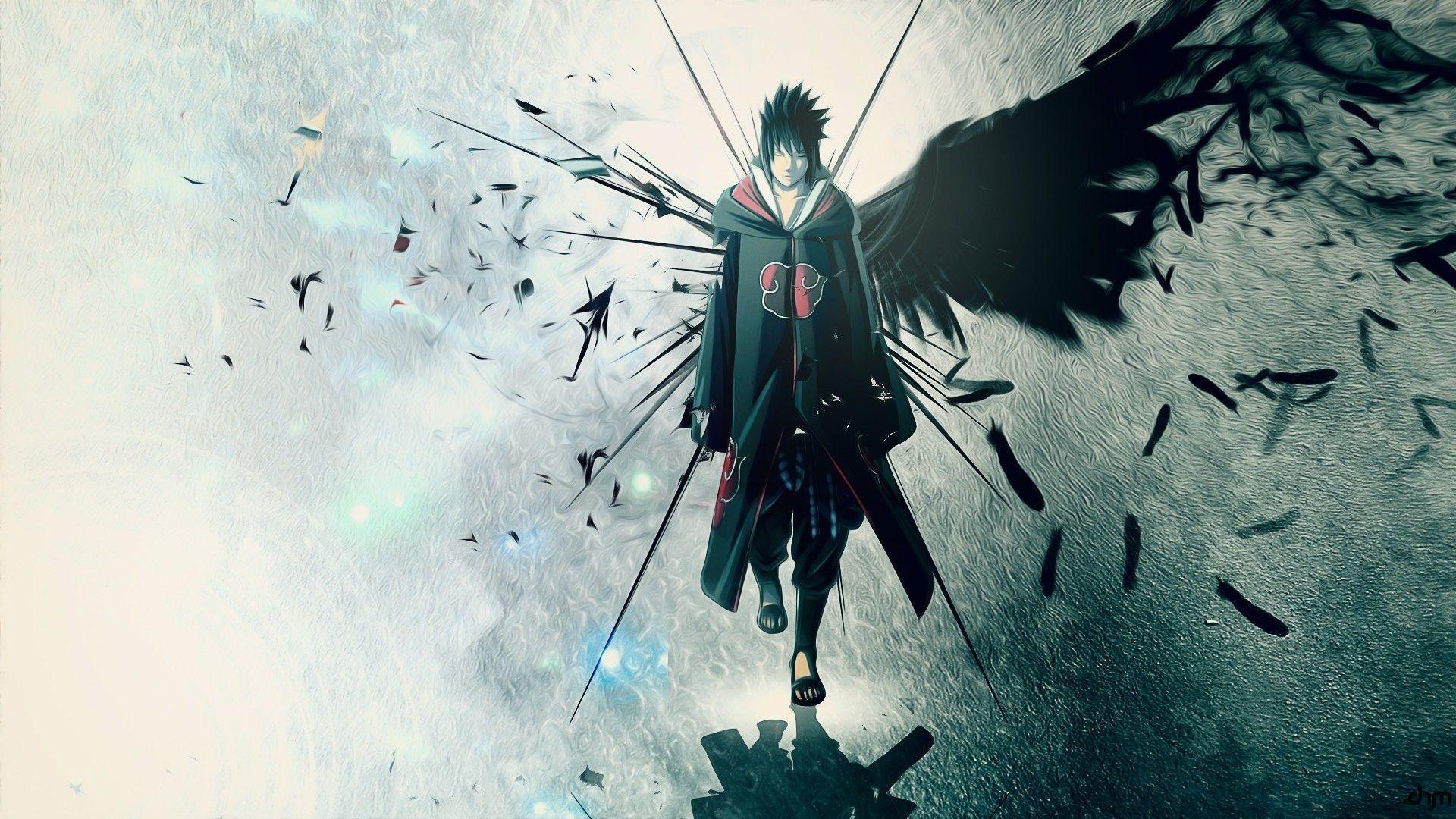 Wallpaper Sasuke 2018