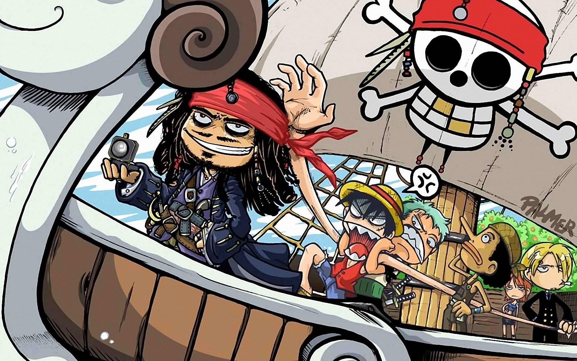 One Piece Wallpaper Hd New World For Android