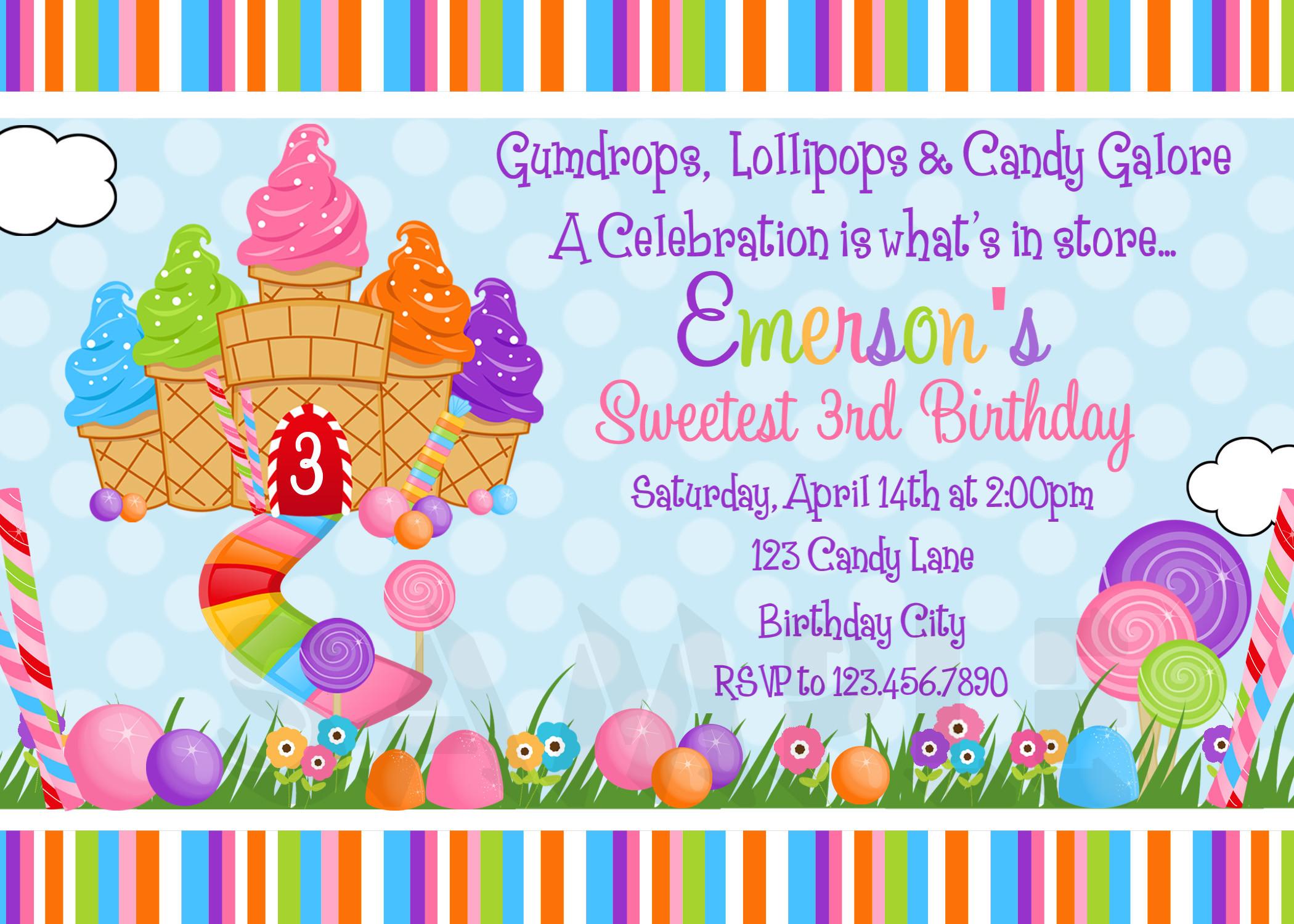 Candyland Background ·①