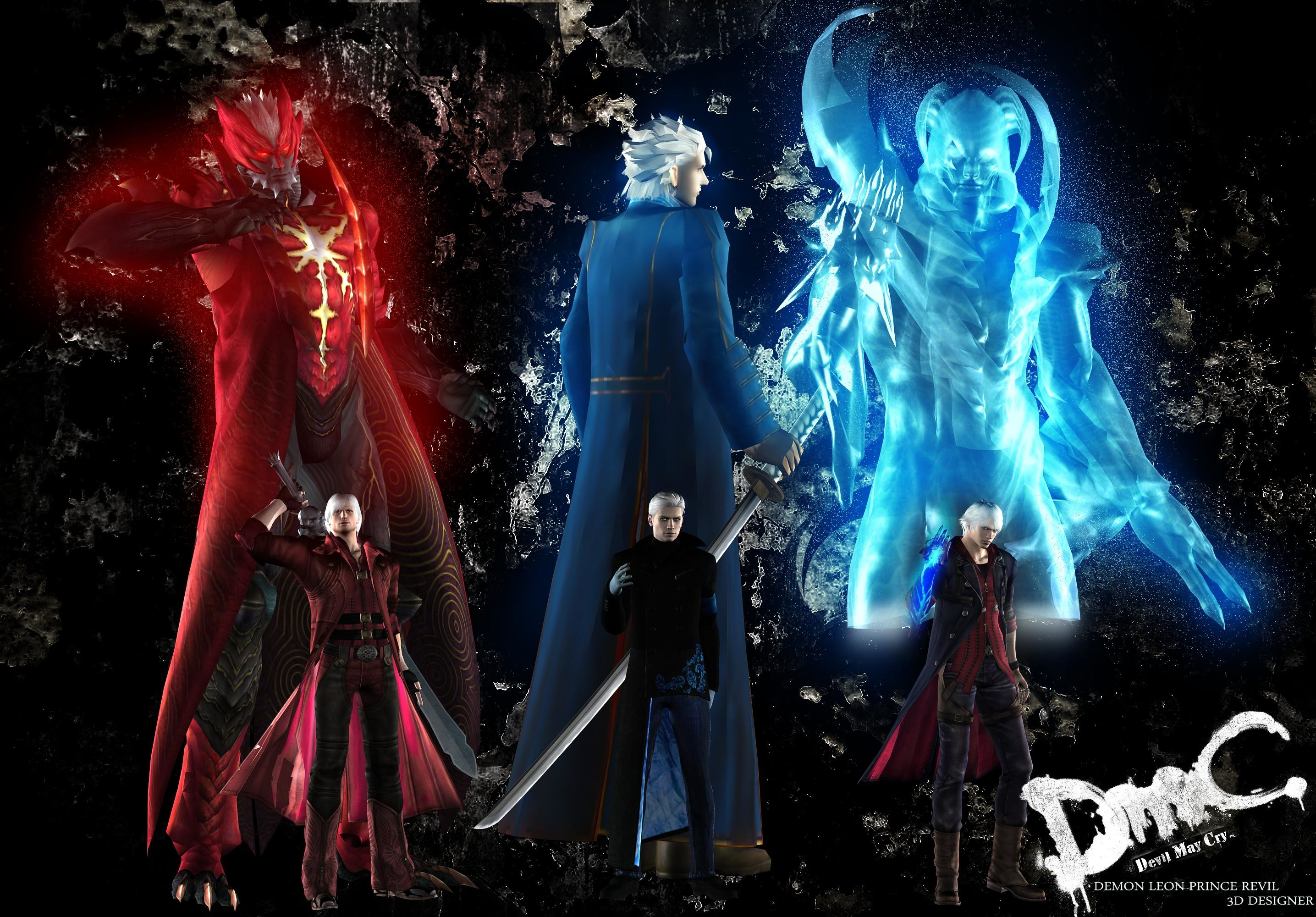 Devil May Cry Dante Wallpaper: Devil May Cry Backgrounds ·① WallpaperTag