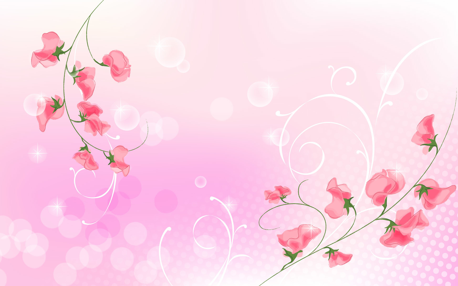 Pink flower backgrounds pink flower wallpapers hd resolution mightylinksfo