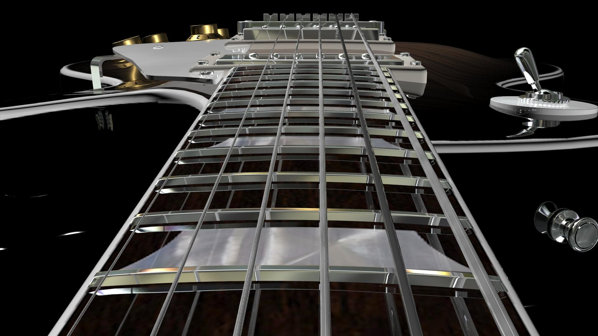 Les Paul Guitar Wallpaper 1