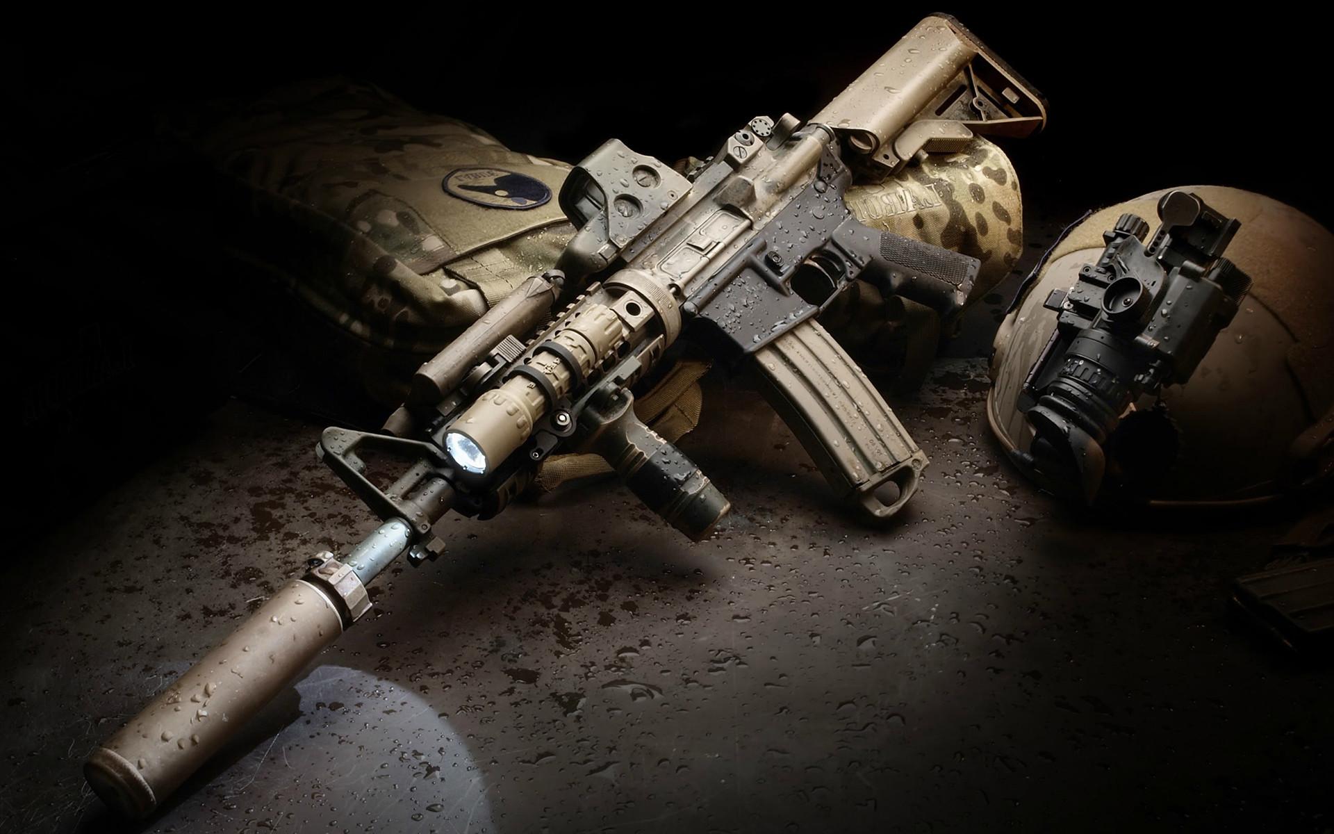 Rifles Of Russian Army Hd Wallpaper: M4 Carbine HD Wallpaper ·① WallpaperTag