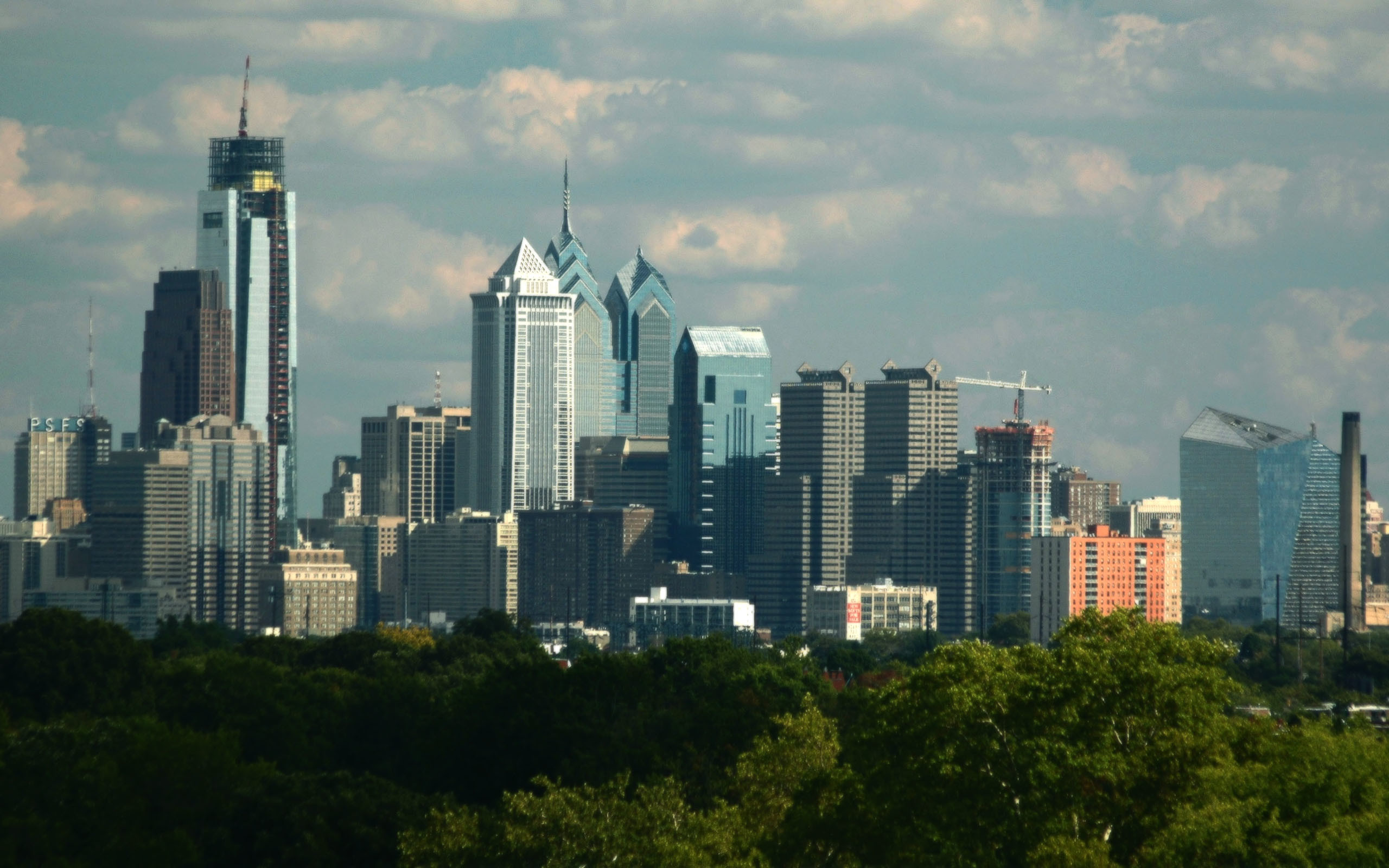 Philadelphia Skyline & Philadelphia Skyline Wallpaper ·?